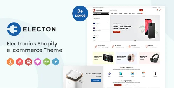 Best Electronics and Gadgets eCommerce Shopify Theme