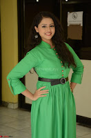 Geethanjali in Green Dress at Mixture Potlam Movie Pressmeet March 2017 062.JPG