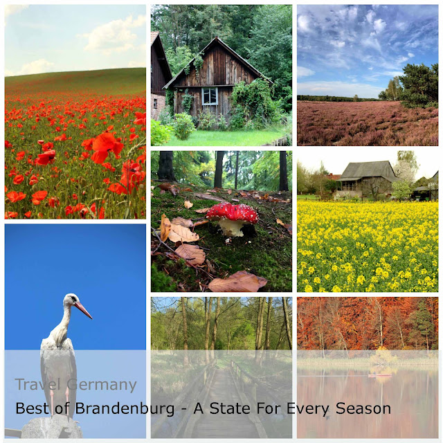 Travel Germany. Best of Brandenburg - A state for every season