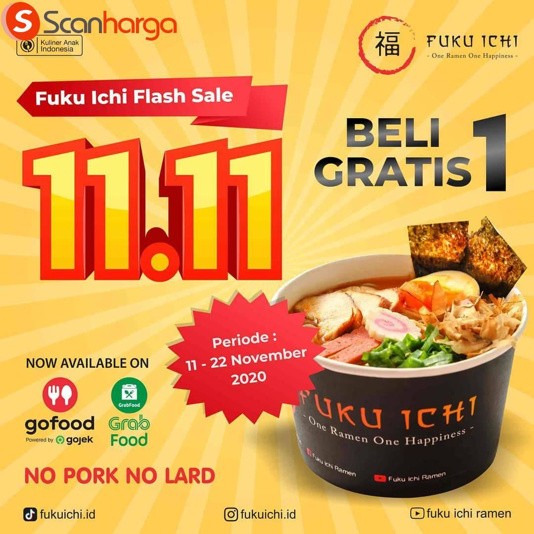 Promo Fuku Ichi Terbaru: FLASH SALE 11.11 PROMO Buy 1 Get 1
