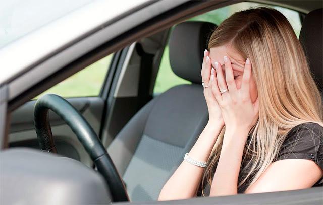 Ataque de ansiedad al conducir