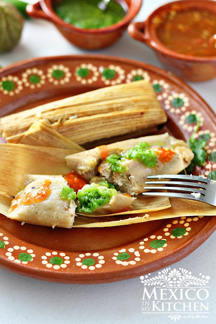 salsa verde chicken tamales recipe