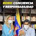 comenzó a caer el Bono Conciencia y Responsabilidad por un monto de 1 millón 200 mil bolívares