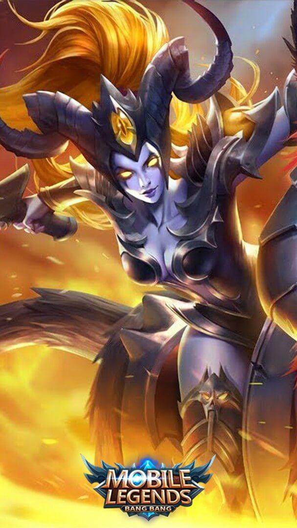 Wallpaper Irithel Hellfire Skin Mobile Legends HD for Mobile