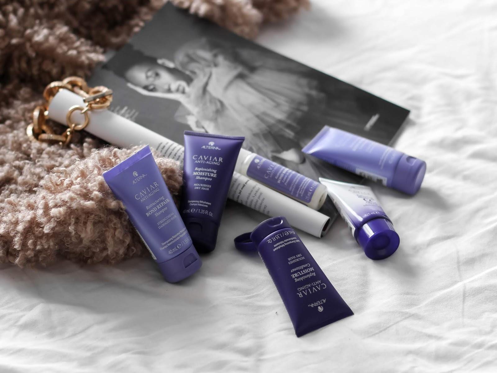 alterna šampon a kondicionér a péče o vlasy