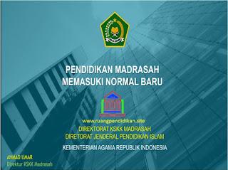 skema new normal di madrasah