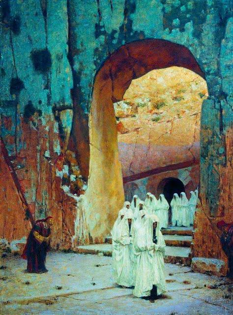 Василий Васильевич Верещагин - В Иерусалиме. Царские гробницы. 1884-1885