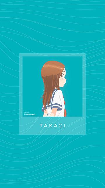 Takagi - Karakai Jouzu no Takagi-san Wallpaper