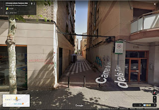 La Riera dels Frares, cubierta y convertida en calle