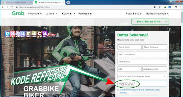 CARA DAFTAR GRAB Bike TANPA SKCK