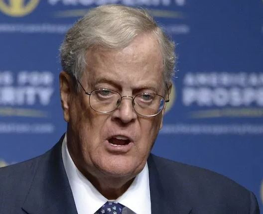 US billionaire and one of the world's richest people, David Koch has died