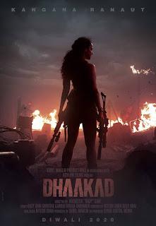 watch new poster of Kangana Ranaut upcoming movie Dhakad, dhaakad movie download in hd,  dhaakad movie images