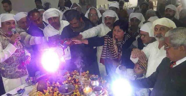 Bannu fraternity organizes Nagar Kirtan, Dr. Radha Narula launches Jyot Prachanda