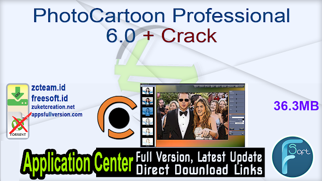 PhotoCartoon Professional 6.0 + Crack