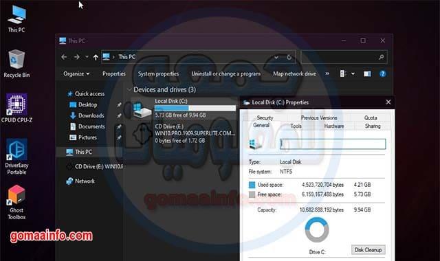 ويندوز 10 سوبر لايت | Windows 10 Pro 19H2 SuperLite Compact