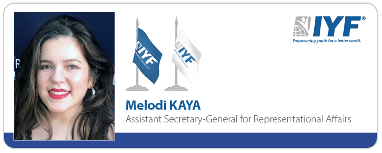 Melodi KAYA, IYF Assistant Secretary-General for Representational Affairs