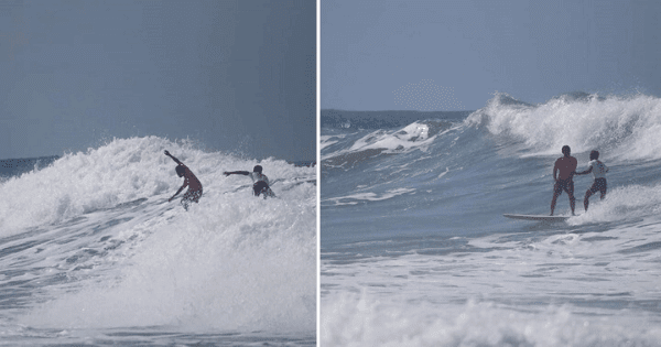 Pinoy Surfer Goes Viral for Saving Indonesian Competitor Amid Race for Gold in SEA Games