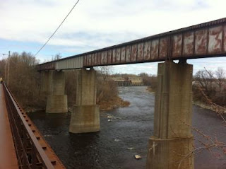 Grasse River Train Bridge