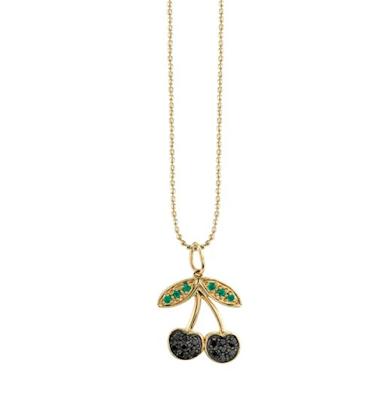 Sydney Evan Cherry Necklace