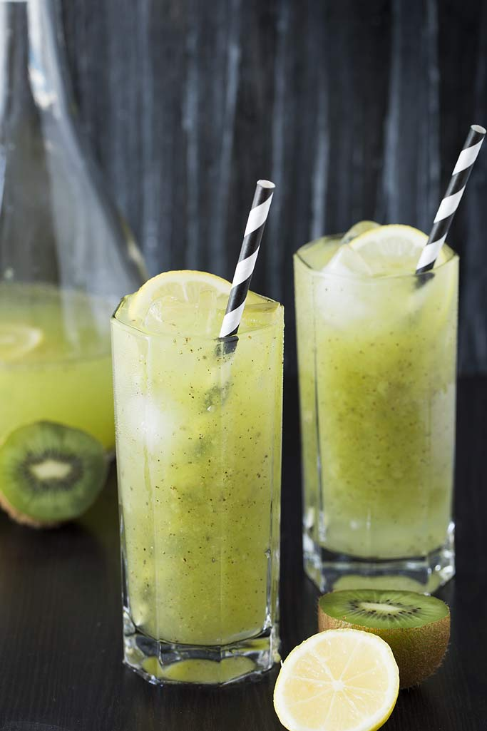 Kiwi Lemonade recipe