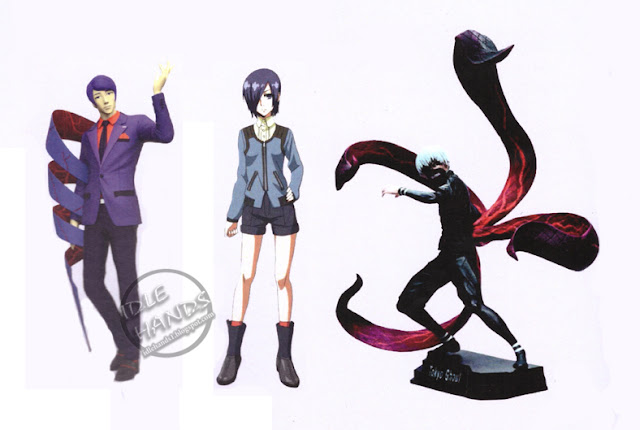 Toy Fair 2017: McFarlane Color Tops Action Figures Tokyo Ghoul