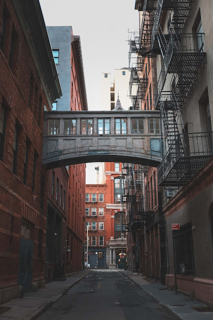 Downtown NYC Alleyway