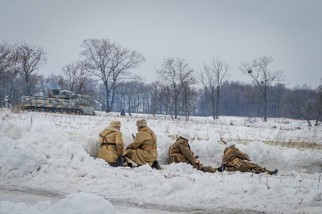 Реконструкция боя при Соколово 9.03.2018 - 27