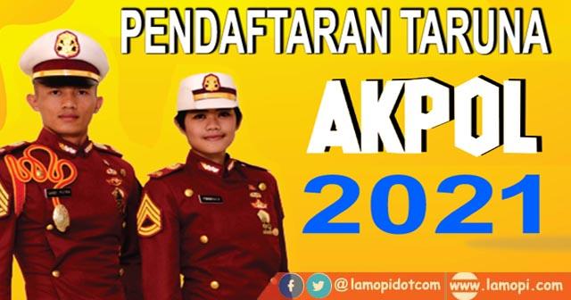 Pendaftaran AKPOL 2021