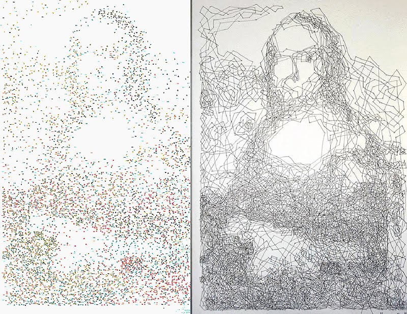 Dot To Dot To Divine Incredible Portraits By Thomas