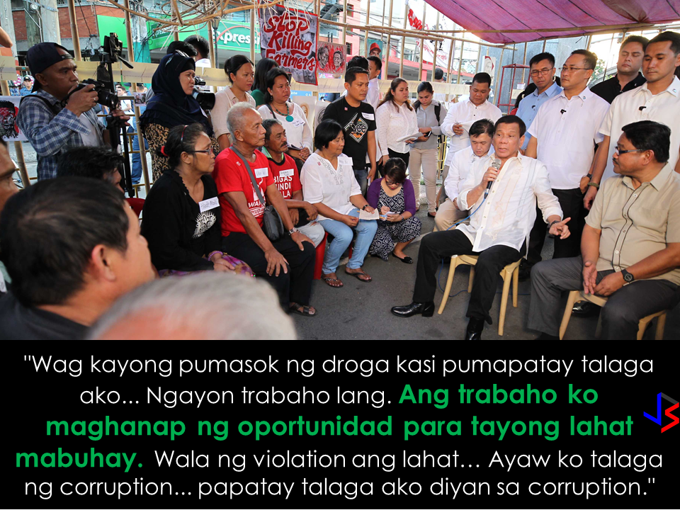 "For the first time in history, the Philippine President mingled and listened to the concerns of the rallyists on the field, outside the comfort of Malacañang Palace.   President Rodrigo Duterte even invited the farmers who were camping out on Mendiola for a dinner at the  Manila Hotel. Duterte added not to mind the ""barong""-wearing  people in there and he told the rallyists to say that the ""mayor"" want them to enjoy a dinner at the Manila Hotel.   Around 200 banana farmers went to Mendiola to ask Duterte to intervene and order Lapanday Foods Corporation to follow government rules to turn the lands  over to the beneficiaries of the agrarian reform program.   The farmers are members of the Madaum Agrarian Reform Beneficiaries Inc. (MARBAI) in Lapanday Foods Corporation in Tagum, Davao del Norte.  Agrarian Reform Secretary Rafael Mariano was supposed to install MARBAI farmers to the 145-hectare land on April 18, but  to ""ensure the safety and security of agrarian reform beneficiaries"", it was postponed. Lapanday Foods Corp has 800 armed security guards barricaded the plantation.   The farmers, with salaries of P50 to P70 per day, also demand the following:  Immediate installation of farm workers and agrarian reform beneficiaries (ARB) to their lands.  Rescind of the onerous agribusiness venture agreement between the ARBs and Lapanday.  End the violence and attacks against farm workers.  Pull-out and punish armed security guards and goons of Lapanday.  Implement genuine agrarian reform.    During the meeting with the farmers, President Duterte reminded them to keep themselves away from illegal drugs.  The unorthodox ways of President Duterte maybe the reason why he won the heart of the masses in spite of the criticisms, the president works continuously for the welfare of the common Filipinos. Recommended: Infidelity can be perceived harmless through the eyes of those who commit it but certainly not for the affected ones, especially the children. It affects them  more than you think. You do it once and it will haunt your family for generations.   There are 7 ways that you are destroying the lives of your kids by committing infidelity:    Your infidelite will be emulated by your kids. Your example is their perception of what is fine and what is right. Children with broken families are most likely to commit infidelity in their adulthood.   They experienced the worst betrayal any human can experience. You cheat your spouse, you cheat your entire household. You inflicted your little children with the worst uncertainty. If you failed their mother/father, what else can stop you from failing them?  They started to panic with the thought that they will be abandoned. It will greatly affect their future.  s they grow up, they tend to push away anyone who shows affection in fear that they will lose them anyway.    You push them to distrust anyone. According to Huffington post, 75% of children with either parents cheated are having abnormal issues on distrusting others.          They will not believe in love anymore.   You are pushing your children to choose sides.   So, if you have a family, you better think millions of times before having an affair. You might be comparing a moment of wrong blissful adventure to the unconditional love that nobody can give, only your spouse and your children.   Recommended:  PSYCHOLOGY:WHAT THOSE HOUSE CLUTTERS TELL ABOUT YOU? We seem to be surrounded by lots of things. Clutters are everywhere and it's everyone's choice whether to de-clutter or not. In our houses, for example,  sometimes we find ourselves in the middle of so much stuff without knowing exactly why we have clutter in the first place? Are we buying too much stuff or we are lacking of enough storage room to keep all of them? Or maybe it tells something interesting about our state of mind?   Noah Mankowski, a Clinical psychologist and an expert in hoarding, says that while there isn't any solid scientific evidence to prove that the actual site of clutter is significant, there could be some truth to it.                            ""That theory is based on a Freudian idea that everything happens for a reason – that there are no mistakes,"" says  Ben Buchanan, clinical psychologist from Foundation Psychology Victoria.             ""Freudians would say that everything's got meaning, everything's got a symbol …They would say that there's a deep unconscious motivation, usually rooted in childhood, for not being able to let go of something. And there's some truth in that, but I think people take it a bit far.""     Bridget Fitzgerald, a psychoanalytic psychotherapist, points out that a house that is too-clean  could also mean something.     Whichever school of thought you want to follow, there is no harm in asking yourself what are the clutters in your house may want to tell you.    RECOMMENDED:  BEFORE YOU GET MARRIED,BE AWARE OF THIS  ISRAEL TO HIRE HUNDREDS OF FILIPINOS FOR HOTEL JOBS  MALLS WITH OSSCO AND OTHER GOVERNMENT SERVICES  DOMESTIC ABUSE EXPOSED ON SOCIAL MEDIA  HSW IN KUWAIT: NO SALARY FOR 9 YEARS  DEATH COMPENSATION FOR SAUDI EXPATS  ON JAKATIA PAWA'S EXECUTION: ""WE DID EVERYTHING.."" -DFA  BELLO ASSURES DECISION ON MORATORIUM MAY COME OUT ANYTIME SOON  SEN. JOEL VILLANUEVA  SUPPORTS DEPLOYMENT BAN ON HSWS IN KUWAIT  AT LEAST 71 OFWS ON DEATH ROW ABROAD  DEPLOYMENT MORATORIUM, NOW! -OFW GROUPS  BE CAREFUL HOW YOU TREAT YOUR HSWS  PRESIDENT DUTERTE WILL VISIT UAE AND KSA, HERE'S WHY  MANPOWER AGENCIES AND RECRUITMENT COMPANIES TO BE HIT DIRECTLY BY HSW DEPLOYMENT MORATORIUM IN KUWAIT  UAE TO START IMPLEMENTING 5%VAT STARTING 2018  REMEMBER THIS 7 THINGS IF YOU ARE APPLYING FOR HOUSEKEEPING JOB IN JAPAN  KENYA , THE LEAST TOXIC COUNTRY IN THE WORLD; SAUDI ARABIA, MOST TOXIC   ""JUNIOR CITIZEN ""  BILL TO BENEFIT P Noah Mankowski, a Clinical psychologist and an expert in hoarding, says that while there isn't any solid scientific evidence to prove that the actual site of clutter is significant, there could be some truth to it. Why OFWs Remain in Neck-deep Debts After Years Of Working Abroad? From beginning to the end, the real life of OFWs are colorful indeed.  To work outside the country, they invest too much, spend a lot. They start making loans for the processing of their needed documents to work abroad.  From application until they can actually leave the country, they spend big sum of money for it.  But after they were being able to finally work abroad, the story did not just end there. More often than not, the big sum of cash  they used to pay the recruitment agency fees cause them to suffer from indebtedness.  They were being charged and burdened with too much fees, which are not even compliant with the law. Because of their eagerness to work overseas, they immerse themselves to high interest loans for the sake of working abroad. The recruitment agencies play a big role why the OFWs are suffering from neck-deep debts. Even some licensed agencies, they freely exploit the vulnerability of the OFWs. Due to their greed to collect more cash from every OFWs that they deploy, it results to making the life of OFWs more miserable by burying them in debts.  The result of high fees collected by the agencies can even last even the OFWs have been deployed abroad. Some employers deduct it to their salaries for a number of months, leaving the OFWs broke when their much awaited salary comes.  But it doesn't end there. Some of these agencies conspire with their counterpart agencies to urge the foreign employers to cut the salary of the poor OFWs in their favor. That is of course, beyond the expectation of the OFWs.   Even before they leave, the promised salary is already computed and allocated. They have already planned how much they are going to send to their family back home. If the employer would cut the amount of the salary they are expecting to receive, the planned remittance will surely suffer, it includes the loans that they promised to be paid immediately on time when they finally work abroad.  There is such a situation that their family in the Philippines carry the burden of paying for these loans made by the OFW. For example. An OFW father that has found a mistress, which is a fellow OFW, who turned his back  to his family  and to his obligations to pay his loans made for the recruitment fees. The result, the poor family back home, aside from not receiving any remittance, they will be the ones who are obliged to pay the loans made by the OFW, adding weight to the emotional burden they already had aside from their daily needs.      Read: Common Money Mistakes Why Ofws remain Broke After Years Of Working Abroad   Source: Bandera/inquirer.net NATIONAL PORTAL AND NATIONAL BROADBAND PLAN TO  SPEED UP INTERNET SERVICES IN THE PHILIPPINES  NATIONWIDE SMOKING BAN SIGNED BY PRESIDENT DUTERTE   EMIRATES ID CAN NOW BE USED AS HEALTH INSURANCE CARD  TODAY'S NEWS THAT WILL REVIVE YOUR TRUST TO THE PHIL GOVERNMENT  BEWARE OF SCAMMERS!  RELOCATING NAIA  THE HORROR AND TERROR OF BEING A HOUSEMAID IN SAUDI ARABIA  DUTERTE WARNING  NEW BAGGAGE RULES FOR DUBAI AIRPORT    HUGE FISH SIGHTINGS  From beginning to the end, the real life of OFWs are colorful indeed. To work outside the country, they invest too much, spend a lot. They start making loans for the processing of their needed documents to work abroad.  NATIONAL PORTAL AND NATIONAL BROADBAND PLAN TO  SPEED UP INTERNET SERVICES IN THE PHILIPPINES In a Facebook post of Agriculture Secretary Manny Piñol, he said that after a presentation made by Dept. of Information and Communications Technology (DICT) Secretary Rodolfo Salalima, Pres. Duterte emphasized the need for faster communications in the country.Pres. Duterte earlier said he would like the Department of Information and Communications Technology (DICT) ""to develop a national broadband plan to accelerate the deployment of fiber optics cables and wireless technologies to improve internet speed."" As a response to the President's SONA statement, Salalima presented the  DICT's national broadband plan that aims to push for free WiFi access to more areas in the countryside.  Good news to the Filipinos whose business and livelihood rely on good and fast internet connection such as stocks trading and online marketing. President Rodrigo Duterte  has already approved the establishment of  the National Government Portal and a National Broadband Plan during the 13th Cabinet Meeting in Malacañang today. In a facebook post of Agriculture Secretary Manny Piñol, he said that after a presentation made by Dept. of Information and Communications Technology (DICT) Secretary Rodolfo Salalima, Pres. Duterte emphasized the need for faster communications in the country. Pres. Duterte earlier said he would like the Department of Information and Communications Technology (DICT) ""to develop a national broadband plan to accelerate the deployment of fiber optics cables and wireless technologies to improve internet speed."" As a response to the President's SONA statement, Salalima presented the  DICT's national broadband plan that aims to push for free WiFi access to more areas in the countryside.  The broadband program has been in the work since former President Gloria Arroyo but due to allegations of corruption and illegality, Mrs. Arroyo cancelled the US$329 million National Broadband Network (NBN) deal with China's ZTE Corp.just 6 months after she signed it in April 2007.  Fast internet connection benefits not only those who are on internet business and online business but even our over 10 million OFWs around the world and their families in the Philippines. When the era of snail mails, voice tapes and telegram  and the internet age started, communications with their loved one back home can be much easier. But with the Philippines being at #43 on the latest internet speed ranks, something is telling us that improvement has to made.                RECOMMENDED  BEWARE OF SCAMMERS!  RELOCATING NAIA  THE HORROR AND TERROR OF BEING A HOUSEMAID IN SAUDI ARABIA  DUTERTE WARNING  NEW BAGGAGE RULES FOR DUBAI AIRPORT    HUGE FISH SIGHTINGS    NATIONWIDE SMOKING BAN SIGNED BY PRESIDENT DUTERTE In January, Health Secretary Paulyn Ubial said that President Duterte had asked her to draft the executive order similar to what had been implemented in Davao City when he was a mayor, it is the ""100% smoke-free environment in public places.""Today, a text message from Sec. Manny Piñol to ABS-CBN News confirmed that President Duterte will sign an Executive Order to ban smoking in public places as drafted by the Department of Health (DOH). If you know someone who is sick, had an accident  or relatives of an employee who died while on duty, you can help them and their families  by sharing them how to claim their benefits from the government through Employment Compensation Commission.  Here are the steps on claiming the Employee Compensation for private employees.        Step 1. Prepare the following documents:  Certificate of Employment- stating  the actual duties and responsibilities of the employee at the time of his sickness or accident.  EC Log Book- certified true copy of the page containing the particular sickness or accident that happened to the employee.  Medical Findings- should come from  the attending doctor the hospital where the employee was admitted.     Step 2. Gather the additional documents if the employee is;  1. Got sick: Request your company to provide  pre-employment medical check -up or  Fit-To-Work certification at the time that you first got hired . Also attach Medical Records from your company.  2. In case of accident: Provide an Accident report if the accident happened within the company or work premises. Police report if it happened outside the company premises (i.e. employee's residence etc.)  3 In case of Death:  Bring the Death Certificate, Medical Records and accident report of the employee. If married, bring the Marriage Certificate and the Birth Certificate of his children below 21 years of age.      FINAL ENTRY HERE, LINKS OTHERS   Step 3.  Gather all the requirements together and submit it to the nearest SSS office. Wait for the SSS decision,if approved, you will receive a notice and a cheque from the SSS. If denied, ask for a written denial letter from SSS and file a motion for reconsideration and submit it to the SSS Main office. In case that the motion is  not approved, write a letter of appeal and send it to ECC and wait for their decision.      Contact ECC Office at ECC Building, 355 Sen. Gil J. Puyat Ave, Makati, 1209 Metro ManilaPhone:(02) 899 4251 Recommended: NATIONAL PORTAL AND NATIONAL BROADBAND PLAN TO  SPEED UP INTERNET SERVICES IN THE PHILIPPINES In a Facebook post of Agriculture Secretary Manny Piñol, he said that after a presentation made by Dept. of Information and Communications Technology (DICT) Secretary Rodolfo Salalima, Pres. Duterte emphasized the need for faster communications in the country.Pres. Duterte earlier said he would like the Department of Information and Communications Technology (DICT) ""to develop a national broadband plan to accelerate the deployment of fiber optics cables and wireless technologies to improve internet speed."" As a response to the President's SONA statement, Salalima presented the  DICT's national broadband plan that aims to push for free WiFi access to more areas in the countryside.   Read more: http://www.jbsolis.com/2017/03/president-rodrigo-duterte-approved.html#ixzz4bC6eQr5N Good news to the Filipinos whose business and livelihood rely on good and fast internet connection such as stocks trading and online marketing. President Rodrigo Duterte  has already approved the establishment of  the National Government Portal and a National Broadband Plan during the 13th Cabinet Meeting in Malacañang today. In a facebook post of Agriculture Secretary Manny Piñol, he said that after a presentation made by Dept. of Information and Communications Technology (DICT) Secretary Rodolfo Salalima, Pres. Duterte emphasized the need for faster communications in the country. Pres. Duterte earlier said he would like the Department of Information and Communications Technology (DICT) ""to develop a national broadband plan to accelerate the deployment of fiber optics cables and wireless technologies to improve internet speed."" As a response to the President's SONA statement, Salalima presented the  DICT's national broadband plan that aims to push for free WiFi access to more areas in the countryside.  The broadband program has been in the work since former President Gloria Arroyo but due to allegations of corruption and illegality, Mrs. Arroyo cancelled the US$329 million National Broadband Network (NBN) deal with China's ZTE Corp.just 6 months after she signed it in April 2007.  Fast internet connection benefits not only those who are on internet business and online business but even our over 10 million OFWs around the world and their families in the Philippines. When the era of snail mails, voice tapes and telegram  and the internet age started, communications with their loved one back home can be much easier. But with the Philippines being at #43 on the latest internet speed ranks, something is telling us that improvement has to made.                RECOMMENDED  BEWARE OF SCAMMERS!  RELOCATING NAIA  THE HORROR AND TERROR OF BEING A HOUSEMAID IN SAUDI ARABIA  DUTERTE WARNING  NEW BAGGAGE RULES FOR DUBAI AIRPORT    HUGE FISH SIGHTINGS    NATIONWIDE SMOKING BAN SIGNED BY PRESIDENT DUTERTE In January, Health Secretary Paulyn Ubial said that President Duterte had asked her to draft the executive order similar to what had been implemented in Davao City when he was a mayor, it is the ""100% smoke-free environment in public places.""Today, a text message from Sec. Manny Piñol to ABS-CBN News confirmed that President Duterte will sign an Executive Order to ban smoking in public places as drafted by the Department of Health (DOH).  Read more: http://www.jbsolis.com/2017/03/executive-order-for-nationwide-smoking.html#ixzz4bC77ijSR   EMIRATES ID CAN NOW BE USED AS HEALTH INSURANCE CARD  TODAY'S NEWS THAT WILL REVIVE YOUR TRUST TO THE PHIL GOVERNMENT  BEWARE OF SCAMMERS!  RELOCATING NAIA  THE HORROR AND TERROR OF BEING A HOUSEMAID IN SAUDI ARABIA  DUTERTE WARNING  NEW BAGGAGE RULES FOR DUBAI AIRPORT    HUGE FISH SIGHTINGS    How to File Employment Compensation for Private Workers If you know someone who is sick, had an accident  or relatives of an employee who died while on duty, you can help them and their families  by sharing them how to claim their benefits from the government through Employment Compensation Commission. If you know someone who is sick, had an accident  or relatives of an employee who died while on duty, you can help them and their families  by sharing them how to claim their benefits from the government through Employment Compensation Commission.  Here are the steps on claiming the Employee Compensation for private employees.        Step 1. Prepare the following documents:  Certificate of Employment- stating  the actual duties and responsibilities of the employee at the time of his sickness or accident.  EC Log Book- certified true copy of the page containing the particular sickness or accident that happened to the employee.  Medical Findings- should come from  the attending doctor the hospital where the employee was admitted.     Step 2. Gather the additional documents if the employee is;  1. Got sick: Request your company to provide  pre-employment medical check -up or  Fit-To-Work certification at the time that you first got hired . Also attach Medical Records from your company.  2. In case of accident: Provide an Accident report if the accident happened within the company or work premises. Police report if it happened outside the company premises (i.e. employee's residence etc.)  3 In case of Death:  Bring the Death Certificate, Medical Records and accident report of the employee. If married, bring the Marriage Certificate and the Birth Certificate of his children below 21 years of age.      FINAL ENTRY HERE, LINKS OTHERS   Step 3.  Gather all the requirements together and submit it to the nearest SSS office. Wait for the SSS decision,if approved, you will receive a notice and a cheque from the SSS. If denied, ask for a written denial letter from SSS and file a motion for reconsideration and submit it to the SSS Main office. In case that the motion is  not approved, write a letter of appeal and send it to ECC and wait for their decision.      Contact ECC Office at ECC Building, 355 Sen. Gil J. Puyat Ave, Makati, 1209 Metro ManilaPhone:(02) 899 4251 Recommended: NATIONAL PORTAL AND NATIONAL BROADBAND PLAN TO  SPEED UP INTERNET SERVICES IN THE PHILIPPINES In a Facebook post of Agriculture Secretary Manny Piñol, he said that after a presentation made by Dept. of Information and Communications Technology (DICT) Secretary Rodolfo Salalima, Pres. Duterte emphasized the need for faster communications in the country.Pres. Duterte earlier said he would like the Department of Information and Communications Technology (DICT) ""to develop a national broadband plan to accelerate the deployment of fiber optics cables and wireless technologies to improve internet speed."" As a response to the President's SONA statement, Salalima presented the  DICT's national broadband plan that aims to push for free WiFi access to more areas in the countryside.   Read more: http://www.jbsolis.com/2017/03/president-rodrigo-duterte-approved.html#ixzz4bC6eQr5N Good news to the Filipinos whose business and livelihood rely on good and fast internet connection such as stocks trading and online marketing. President Rodrigo Duterte  has already approved the establishment of  the National Government Portal and a National Broadband Plan during the 13th Cabinet Meeting in Malacañang today. In a facebook post of Agriculture Secretary Manny Piñol, he said that after a presentation made by Dept. of Information and Communications Technology (DICT) Secretary Rodolfo Salalima, Pres. Duterte emphasized the need for faster communications in the country. Pres. Duterte earlier said he would like the Department of Information and Communications Technology (DICT) ""to develop a national broadband plan to accelerate the deployment of fiber optics cables and wireless technologies to improve internet speed."" As a response to the President's SONA statement, Salalima presented the  DICT's national broadband plan that aims to push for free WiFi access to more areas in the countryside.  The broadband program has been in the work since former President Gloria Arroyo but due to allegations of corruption and illegality, Mrs. Arroyo cancelled the US$329 million National Broadband Network (NBN) deal with China's ZTE Corp.just 6 months after she signed it in April 2007.  Fast internet connection benefits not only those who are on internet business and online business but even our over 10 million OFWs around the world and their families in the Philippines. When the era of snail mails, voice tapes and telegram  and the internet age started, communications with their loved one back home can be much easier. But with the Philippines being at #43 on the latest internet speed ranks, something is telling us that improvement has to made.                RECOMMENDED  BEWARE OF SCAMMERS!  RELOCATING NAIA  THE HORROR AND TERROR OF BEING A HOUSEMAID IN SAUDI ARABIA  DUTERTE WARNING  NEW BAGGAGE RULES FOR DUBAI AIRPORT    HUGE FISH SIGHTINGS    NATIONWIDE SMOKING BAN SIGNED BY PRESIDENT DUTERTE In January, Health Secretary Paulyn Ubial said that President Duterte had asked her to draft the executive order similar to what had been implemented in Davao City when he was a mayor, it is the ""100% smoke-free environment in public places.""Today, a text message from Sec. Manny Piñol to ABS-CBN News confirmed that President Duterte will sign an Executive Order to ban smoking in public places as drafted by the Department of Health (DOH).  Read more: http://www.jbsolis.com/2017/03/executive-order-for-nationwide-smoking.html#ixzz4bC77ijSR   EMIRATES ID CAN NOW BE USED AS HEALTH INSURANCE CARD  TODAY'S NEWS THAT WILL REVIVE YOUR TRUST TO THE PHIL GOVERNMENT  BEWARE OF SCAMMERS!  RELOCATING NAIA  THE HORROR AND TERROR OF BEING A HOUSEMAID IN SAUDI ARABIA  DUTERTE WARNING  NEW BAGGAGE RULES FOR DUBAI AIRPORT    HUGE FISH SIGHTINGS   Requirements and Fees for Reduced Travel Tax for OFW Dependents What is a travel tax? According to TIEZA ( Tourism Infrastructure and Enterprise Zone Authority), it is a levy imposed by the Philippine government on individuals who are leaving the Philippines, as provided for by Presidential Decree (PD) 1183.   A full travel tax for first class passenger is PhP2,700.00 and PhP1,620.00 for economy class. For an average Filipino like me, it's quite pricey. Overseas Filipino Workers, diplomats and airline crew members are exempted from paying travel tax before but now, travel tax for OFWs are included in their air ticket prize and can be refunded later at the refund counter at NAIA.  However, OFW dependents can apply for  standard reduced travel tax. Children or Minors from 2 years and one (1) day to 12th birthday on date of travel.  Accredited Filipino journalist whose travel is in pursuit of journalistic assignment and   those authorized by the President of the Republic of the Philippines for reasons of national interest, are also entitled to avail the reduced travel tax. If you will travel anywhere in the world from the Philippines, you must be aware about the travel tax that you need to settle before your flight.  What is a travel tax? According to TIEZA ( Tourism Infrastructure and Enterprise Zone Authority), it is a levy imposed by the Philippine government on individuals who are leaving the Philippines, as provided for by Presidential Decree (PD) 1183.   A full travel tax for first class passenger is PhP2,700.00 and PhP1,620.00 for economy class. For an average Filipino like me, it's quite pricey. Overseas Filipino Workers, diplomats and airline crew members are exempted from paying travel tax before but now, travel tax for OFWs are included in their air ticket prize and can be refunded later at the refund counter at NAIA.  However, OFW dependents can apply for  standard reduced travel tax. Children or Minors from 2 years and one (1) day to 12th birthday on date of travel.  Accredited Filipino journalist whose travel is in pursuit of journalistic assignment and   those authorized by the President of the Republic of the Philippines for reasons of national interest, are also entitled to avail the reduced travel tax.           For privileged reduce travel tax, the legitimate spouse and unmarried children (below 21 years old) of the OFWs are qualified to avail.   How much can you save if you avail of the reduced travel tax?  A full travel tax for first class passenger is PhP2,700.00 and PhP1,620.00 for economy class. Paying it in full can be costly. With the reduced travel tax policy, your travel tax has been cut roughly by 50 percent for the standard reduced rate and further lower  for the privileged reduce rate.  How much is the Reduced Travel Tax?  First Class Economy Standard Reduced Rate P1,350.00 P810.00 Privileged Reduced Rate    P400.00 P300.00  Image from TIEZA  ©2017 THOUGHTSKOTO Infidelity can be perceived harmless through the eyes of those who commit it but certainly not for the affected ones, especially the children. It affects them  more than you think. You do it once and it will haunt your family for generations.  A massive attack on Google hit millions of Gmail users after receiving an email which instructs the user to click on a document. After that, a very google-like page that will ask for your password and that's where you get infected. Experts warned that if ever you received an email which asks you to click a document, please! DO NOT CLICK IT!  This ""worm"" which arrived in the inboxes of Gmail users in the form of an email from a trusted contact asking users to click on an attached ""Google Docs,"" or GDocs, file. Clicking on the link took them to a real Google security page, where users were asked to give permission for the fake app, posing as GDocs, to have an access to the users' email account.  For added menace, this worm also sent itself out to all of the contacts of the affected user Gmail or and others spawning itself hundreds of times any time a single user was hooked on its snare.  Follow Google Docs  ✔@googledocs We are investigating a phishing email that appears as Google Docs. We encourage you to not click through & report as phishing within Gmail. 4:08 AM - 4 May 2017       4,6234,623 Retweets     2,5192,519 likes It is a common strategy but what puzzled millions of affected users was the sophisticated construction of the malicious link which was so realistic; from the email sender to the link that remarkably looks real. Worms or phishing attacks generally access your personal information like passwords of your bank accounts, social media accounts, and others.  This gmail/docs hack is clever. It's abusing oauth to gain access to accounts. 4:51 AM - 4 May 2017       Retweets     11 like    Follow St George Police @sgcitypubsafety Do you Goole? Or use GMAIL? Watch out for this scam & spread the word (not the virus!) https://www.reddit.com/r/google/comments/692cr4/new_google_docs_phishing_scam_almost_undetectable/ … 4:50 AM - 4 May 2017  Photo published for New Google Docs phishing scam, almost undetectable • r/google New Google Docs phishing scam, almost undetectable • r/google I received a phishing email today, and very nearly fell for it. I'll go through the steps here: 1. I [received an... reddit.com       22 Retweets     44 likes   View image on Twitter View image on Twitter   Follow CortlandtDailyVoice @CortlandtDV Westchester School Officials Warn Of Gmail Email 'Situation' http://dlvr.it/P3KdGC  4:50 AM - 4 May 2017       11 Retweet     11 like    Follow Shane Gustafson  ✔@Shane_WMBD SCAM ALERT: Gmail accounts across the country have been hacked, several agencies are asking you to be aware. http://www.centralillinoisproud.com/news/local-news/gmail-hack-hits-central-illinois/705935084 … 4:48 AM - 4 May 2017  Photo published for Gmail Hack Hits Central Illinois Gmail Hack Hits Central Illinois An attack against Gmail accounts across the country also targets several agencies in central Illinois. centralillinoisproud.com       66 Retweets     33 likes    Follow Lance @lancewmccarthy Man, gmail's getting hammered today with spam and phishing attacks. 4:49 AM - 4 May 2017       11 Retweet     11 like Within an hour,  a red warning began appearing with the malicious email that says it could be a phishing attack.   View image on Twitter View image on Twitter   Follow Jen Lee Reeves @jenleereeves Be careful, Twitter people with Gmail accounts! Do not click on the ""doc share"" box. It's a solid attempt at phishing. 4:14 AM - 4 May 2017       44 Retweets     77 likes    However, Google said that they had ""disabled"" the malicious accounts and pushed updates to all users. They also said that it only affected ""fewer than 0.1 percent of Gmail users"" still be about 1 million of the service's roughly 1 billion users around the world.  What do you have to do if you experienced similar phishing attacks?        Source: NBC Recommended:  Do You Need Money For Tuition Fee For The Next School Year? You Need To Watch This Do you need money for your tuition fee to be able to study this coming school year? The Philippine government might be able to help you. All you need to do is to follow these steps:  -Inquire at the state college or university where you want to study.  -Bring Identification forms. If your family is a 4Ps subsidiary, prepare and bring your 4Ps identification card. For families who are not a member of 4Ps, bring your family's proof of income.  -Bring the registration form from your state college or university where you want to study.   Nicholas Tenazas, Deputy executive Director of CHED-UniFAST said that in the program, the state colleges and universities will not collect any tuition fee from the students. The Government will shoulder their tuition fees.  CHED-UniFAST or the Unified Student Financial Assistance For Tertiary Education otherwise known as the Republic Act 10687  which aims to provide quality education to the Filipinos.  What are the qualifications for availing of the modalities of UniFAST?  The applicant for any of the modalities under the UniFAST must meet the following minimum qualifications:  (a) must be a Filipino citizen, but the Board may grant exemptions to foreign students based on reciprocal programs that provide similar benefits to Filipino students, such as student exchange programs, international reciprocal Scholarships, and other mutually beneficial programs;   (b) must be a high school graduate or its equivalent from duly authorized institutions;   (c) must possess good moral character with no criminal record, but this requirement shall be waived for programs which target children in conflict with the law and those who are undergoing or have undergone rehabilitation;   (d) must be admitted to the higher education institution (HEI) or TVI included in the Registry of Programs and Institutions of the applicant's choice, provided that the applicant shall be allowed to begin processing the application within a reasonable time frame set by the Board to give the applicant sufficient time to enroll;   (e) in the case of technical-vocational education and training or TVET programs, must have passed the TESDA screening/assessment procedure, trade test, or skills competency evaluation; and   (f) in the case of scholarship, the applicant must obtain at least the score required by the Board for the Qualifying Examination System for Scoring Students and must possess such other qualifications as may be prescribed by the Board.  The applicant has to declare also if he or she is already a beneficiary of any other student financial assistance, including government StuFAP. However, if at the time of application of the scholarship, grant-in-aid, student loan, or other modalities of StuFAP under this Act, the amount of such other existing grant does not cover the full cost of tertiary education at the HEI or TVI where the applicant has enrolled in, the applicant may still avail of the StuFAPs under this Act for the remaining portion. Recommended:  Starting this August, the Land Transportation Office (LTO) will possibly release the driver's license with validity of 5 years as President Duterte earlier promised.  LTO Chief Ed Galvante said, LTO started the renewal of driver's license with a validity of 5 years since last year but due to the delay of the supply of the plastic cards, they are only able to issue receipts. The LTO is optimistic that the plastic cards will be available on the said month.  Meanwhile, the LTO Chief has uttered support to the program of the Land Transportation Franchising and Regulatory Board (LTFRB) which is the establishment of the Driver's Academy which will begin this month  Public Utility Drivers will be required to attend the one to two days classes. At the academy, they will learn the traffic rules and regulations, LTFRB policies, and they will also be taught on how to avoid road rage. Grab and Uber drivers will also be required to undergo the same training.  LTFRB board member Aileen Lizada said that they will conduct an exam after the training and if the drivers passed, they will be given an ID Card.  The list of the passers will be then listed to their database. The operators will be able to check the status of the drivers they are hiring. Recommended:    Transfer to other employer   An employer can grant a written permission to his employees to work with another employer for a period of six months, renewable for a similar period.  Part time jobs are now allowed   Employees can take up part time job with another employer, with a written approval from his original employer, the Ministry of Interior said yesterday.   Staying out of Country, still can come back?  Expatriates staying out of the country for more than six months can re-enter the country with a ""return visa"", within a year, if they hold a Qatari residency permit (RP) and after paying the fine.    Newborn RP possible A newborn baby can get residency permit within 90 days from the date of birth or the date of entering the country, if the parents hold a valid Qatari RP.  No medical check up Anyone who enters the country on a visit visa or for other purposes are not required to undergo the mandatory medical check-up if they stay for a period not more than 30 days. Foreigners are not allowed to stay in the country after expiry of their visa if not renewed.   E gates for all  Expatriates living in Qatar can leave and enter the country using their Qatari IDs through the e-gates.  Exit Permit Grievances Committee According to Law No 21 of 2015 regulating entry, exit and residency of expatriates, which was enforced on December 13, last year, expatriate worker can leave the country immediately after his employer inform the competent authorities about his consent for exit. In case the employer objected, the employee can lodge a complaint with the Exit Permit Grievances Committee which will take a decision within three working days.  Change job before or after contract , complete freedom  Expatriate worker can change his job before the end of his work contract with or without the consent of his employer, if the contract period ended or after five years if the contract is open ended. With approval from the competent authority, the worker also can change his job if the employer died or the company vanished for any reason.   Three months for RP process  The employer must process the RP of his employees within 90 days from the date of his entry to the country.  Expat must leave within 90 days of visa expiry The employer must return the travel document (passport) to the employee after finishing the RP formalities unless the employee makes a written request to keep it with the employer. The employer must report to the authorities concerned within 24 hours if the worker left his job, refused to leave the country after cancellation of his RP, passed three months since its expiry or his visit visa ended.  If the visa or residency permit becomes invalid the expat needs to leave the country within 90 days from the date of its expiry. The expat must not violate terms and the purpose for which he/she has been granted the residency permit and should not work with another employer without permission of his original employer. In case of a dispute the Interior Minister or his representative has the right to allow an expatriate worker to work with another employer temporarily with approval from the Ministry of Administrative Development,Labour and Social Affairs. Source:qatarday.com Recommended:      The Barangay Micro Business Enterprise Program (BMBE) or Republic Act No. 9178 of the Department of Trade and Industry (DTI) started way back 2002 which aims to help people to start their small business by providing them incentives and other benefits.  If you have a small business that belongs to manufacturing, production, processing, trading and services with assets not exceeding P3 million you can benefit from BMBE Program of the government.  Benefits include:  Income tax exemption from income arising from the operations of the enterprise;   Exemption from the coverage of the Minimum Wage Law (BMBE 1) 2) 3) 2 employees will still receive the same social security and health care benefits as other employees);   Priority to a special credit window set up specifically for the financing requirements of BMBEs; and  Technology transfer, production and management training, and marketing assistance programs for BMBE beneficiaries.  Gina Lopez Confirmation as DENR Secretary Rejected; Who Voted For Her and Who Voted Against?   ©2017 THOUGHTSKOTO www.jbsolis.com SEARCH JBSOLIS   The Barangay Micro Business Enterprise Program (BMBE) or Republic Act No. 9178 of the Department of Trade and Industry (DTI) started way back 2002 which aims to help people to start their small business by providing them incentives and other benefits.  If you have a small business that belongs to manufacturing, production, processing, trading and services with assets not exceeding P3 million you can benefit from BMBE Program of the government.   Benefits include: Income tax exemption from income arising from the operations of the enterprise;   Exemption from the coverage of the Minimum Wage Law (BMBE 1) 2) 3) 2 employees will still receive the same social security and health care benefits as other employees);   Priority to a special credit window set up specifically for the financing requirements of BMBEs; and  Technology transfer, production and management training, and marketing assistance programs for BMBE beneficiaries.  Gina Lopez Confirmation as DENR Secretary Rejected; Who Voted For Her and Who Voted Against? Transfer to other employer   An employer can grant a written permission to his employees to work with another employer for a period of six months, renewable for a similar period.  Part time jobs are now allowed   Employees can take up part time job with another employer, with a written approval from his original employer, the Ministry of Interior said yesterday.   Staying out of Country, still can come back?  Expatriates staying out of the country for more than six months can re-enter the country with a ""return visa"", within a year, if they hold a Qatari residency permit (RP) and after paying the fine.    Newborn RP possible A newborn baby can get residency permit within 90 days from the date of birth or the date of entering the country, if the parents hold a valid Qatari RP.  No medical check up Anyone who enters the country on a visit visa or for other purposes are not required to undergo the mandatory medical check-up if they stay for a period not more than 30 days. Foreigners are not allowed to stay in the country after expiry of their visa if not renewed.   E gates for all  Expatriates living in Qatar can leave and enter the country using their Qatari IDs through the e-gates.  Exit Permit Grievances Committee According to Law No 21 of 2015 regulating entry, exit and residency of expatriates, which was enforced on December 13, last year, expatriate worker can leave the country immediately after his employer inform the competent authorities about his consent for exit. In case the employer objected, the employee can lodge a complaint with the Exit Permit Grievances Committee which will take a decision within three working days.  Change job before or after contract , complete freedom  Expatriate worker can change his job before the end of his work contract with or without the consent of his employer, if the contract period ended or after five years if the contract is open ended. With approval from the competent authority, the worker also can change his job if the employer died or the company vanished for any reason.   Three months for RP process  The employer must process the RP of his employees within 90 days from the date of his entry to the country.  Expat must leave within 90 days of visa expiry The employer must return the travel document (passport) to the employee after finishing the RP formalities unless the employee makes a written request to keep it with the employer. The employer must report to the authorities concerned within 24 hours if the worker left his job, refused to leave the country after cancellation of his RP, passed three months since its expiry or his visit visa ended.  If the visa or residency permit becomes invalid the expat needs to leave the country within 90 days from the date of its expiry. The expat must not violate terms and the purpose for which he/she has been granted the residency permit and should not work with another employer without permission of his original employer. In case of a dispute the Interior Minister or his representative has the right to allow an expatriate worker to work with another employer temporarily with approval from the Ministry of Administrative Development,Labour and Social Affairs. Source:qatarday.com Recommended:      The Barangay Micro Business Enterprise Program (BMBE) or Republic Act No. 9178 of the Department of Trade and Industry (DTI) started way back 2002 which aims to help people to start their small business by providing them incentives and other benefits.  If you have a small business that belongs to manufacturing, production, processing, trading and services with assets not exceeding P3 million you can benefit from BMBE Program of the government.  Benefits include:  Income tax exemption from income arising from the operations of the enterprise;   Exemption from the coverage of the Minimum Wage Law (BMBE 1) 2) 3) 2 employees will still receive the same social security and health care benefits as other employees);   Priority to a special credit window set up specifically for the financing requirements of BMBEs; and  Technology transfer, production and management training, and marketing assistance programs for BMBE beneficiaries.  Gina Lopez Confirmation as DENR Secretary Rejected; Who Voted For Her and Who Voted Against?   ©2017 THOUGHTSKOTO www.jbsolis.com SEARCH JBSOLIS  ©2017 THOUGHTSKOTO www.jbsolis.com SEARCH JBSOLIS Starting this August, the Land Transportation Office (LTO) will possibly release the driver's license with validity of 5 years as President Duterte earlier promised.  LTO Chief Ed Galvante said, LTO started the renewal of driver's license with a validity of 5 years since last year but due to the delay of the supply of the plastic cards, they are only able to issue receipts. The LTO is optimistic that the plastic cards will be available on the said month.     Transfer to other employer   An employer can grant a written permission to his employees to work with another employer for a period of six months, renewable for a similar period.  Part time jobs are now allowed   Employees can take up part time job with another employer, with a written approval from his original employer, the Ministry of Interior said yesterday.   Staying out of Country, still can come back?  Expatriates staying out of the country for more than six months can re-enter the country with a ""return visa"", within a year, if they hold a Qatari residency permit (RP) and after paying the fine.    Newborn RP possible A newborn baby can get residency permit within 90 days from the date of birth or the date of entering the country, if the parents hold a valid Qatari RP.  No medical check up Anyone who enters the country on a visit visa or for other purposes are not required to undergo the mandatory medical check-up if they stay for a period not more than 30 days. Foreigners are not allowed to stay in the country after expiry of their visa if not renewed.   E gates for all  Expatriates living in Qatar can leave and enter the country using their Qatari IDs through the e-gates.  Exit Permit Grievances Committee According to Law No 21 of 2015 regulating entry, exit and residency of expatriates, which was enforced on December 13, last year, expatriate worker can leave the country immediately after his employer inform the competent authorities about his consent for exit. In case the employer objected, the employee can lodge a complaint with the Exit Permit Grievances Committee which will take a decision within three working days.  Change job before or after contract , complete freedom  Expatriate worker can change his job before the end of his work contract with or without the consent of his employer, if the contract period ended or after five years if the contract is open ended. With approval from the competent authority, the worker also can change his job if the employer died or the company vanished for any reason.   Three months for RP process  The employer must process the RP of his employees within 90 days from the date of his entry to the country.  Expat must leave within 90 days of visa expiry The employer must return the travel document (passport) to the employee after finishing the RP formalities unless the employee makes a written request to keep it with the employer. The employer must report to the authorities concerned within 24 hours if the worker left his job, refused to leave the country after cancellation of his RP, passed three months since its expiry or his visit visa ended.  If the visa or residency permit becomes invalid the expat needs to leave the country within 90 days from the date of its expiry. The expat must not violate terms and the purpose for which he/she has been granted the residency permit and should not work with another employer without permission of his original employer. In case of a dispute the Interior Minister or his representative has the right to allow an expatriate worker to work with another employer temporarily with approval from the Ministry of Administrative Development,Labour and Social Affairs. Source:qatarday.com Recommended:      The Barangay Micro Business Enterprise Program (BMBE) or Republic Act No. 9178 of the Department of Trade and Industry (DTI) started way back 2002 which aims to help people to start their small business by providing them incentives and other benefits.  If you have a small business that belongs to manufacturing, production, processing, trading and services with assets not exceeding P3 million you can benefit from BMBE Program of the government.  Benefits include:  Income tax exemption from income arising from the operations of the enterprise;   Exemption from the coverage of the Minimum Wage Law (BMBE 1) 2) 3) 2 employees will still receive the same social security and health care benefits as other employees);   Priority to a special credit window set up specifically for the financing requirements of BMBEs; and  Technology transfer, production and management training, and marketing assistance programs for BMBE beneficiaries.  Gina Lopez Confirmation as DENR Secretary Rejected; Who Voted For Her and Who Voted Against?   ©2017 THOUGHTSKOTO www.jbsolis.com SEARCH JBSOLIS    The Barangay Micro Business Enterprise Program (BMBE) or Republic Act No. 9178 of the Department of Trade and Industry (DTI) started way back 2002 which aims to help people to start their small business by providing them incentives and other benefits.  If you have a small business that belongs to manufacturing, production, processing, trading and services with assets not exceeding P3 million you can benefit from BMBE Program of the government.  Benefits include: Income tax exemption from income arising from the operations of the enterprise;   Exemption from the coverage of the Minimum Wage Law (BMBE 1) 2) 3) 2 employees will still receive the same social security and health care benefits as other employees);   Priority to a special credit window set up specifically for the financing requirements of BMBEs; and  Technology transfer, production and management training, and marketing assistance programs for BMBE beneficiaries.  Gina Lopez Confirmation as DENR Secretary Rejected; Who Voted For Her and Who Voted Against? Transfer to other employer   An employer can grant a written permission to his employees to work with another employer for a period of six months, renewable for a similar period.  Part time jobs are now allowed   Employees can take up part time job with another employer, with a written approval from his original employer, the Ministry of Interior said yesterday.   Staying out of Country, still can come back?  Expatriates staying out of the country for more than six months can re-enter the country with a ""return visa"", within a year, if they hold a Qatari residency permit (RP) and after paying the fine.    Newborn RP possible A newborn baby can get residency permit within 90 days from the date of birth or the date of entering the country, if the parents hold a valid Qatari RP.  No medical check up Anyone who enters the country on a visit visa or for other purposes are not required to undergo the mandatory medical check-up if they stay for a period not more than 30 days. Foreigners are not allowed to stay in the country after expiry of their visa if not renewed.   E gates for all  Expatriates living in Qatar can leave and enter the country using their Qatari IDs through the e-gates.  Exit Permit Grievances Committee According to Law No 21 of 2015 regulating entry, exit and residency of expatriates, which was enforced on December 13, last year, expatriate worker can leave the country immediately after his employer inform the competent authorities about his consent for exit. In case the employer objected, the employee can lodge a complaint with the Exit Permit Grievances Committee which will take a decision within three working days.  Change job before or after contract , complete freedom  Expatriate worker can change his job before the end of his work contract with or without the consent of his employer, if the contract period ended or after five years if the contract is open ended. With approval from the competent authority, the worker also can change his job if the employer died or the company vanished for any reason.   Three months for RP process  The employer must process the RP of his employees within 90 days from the date of his entry to the country.  Expat must leave within 90 days of visa expiry The employer must return the travel document (passport) to the employee after finishing the RP formalities unless the employee makes a written request to keep it with the employer. The employer must report to the authorities concerned within 24 hours if the worker left his job, refused to leave the country after cancellation of his RP, passed three months since its expiry or his visit visa ended.  If the visa or residency permit becomes invalid the expat needs to leave the country within 90 days from the date of its expiry. The expat must not violate terms and the purpose for which he/she has been granted the residency permit and should not work with another employer without permission of his original employer. In case of a dispute the Interior Minister or his representative has the right to allow an expatriate worker to work with another employer temporarily with approval from the Ministry of Administrative Development,Labour and Social Affairs. Source:qatarday.com Recommended:      The Barangay Micro Business Enterprise Program (BMBE) or Republic Act No. 9178 of the Department of Trade and Industry (DTI) started way back 2002 which aims to help people to start their small business by providing them incentives and other benefits.  If you have a small business that belongs to manufacturing, production, processing, trading and services with assets not exceeding P3 million you can benefit from BMBE Program of the government.  Benefits include:  Income tax exemption from income arising from the operations of the enterprise;   Exemption from the coverage of the Minimum Wage Law (BMBE 1) 2) 3) 2 employees will still receive the same social security and health care benefits as other employees);   Priority to a special credit window set up specifically for the financing requirements of BMBEs; and  Technology transfer, production and management training, and marketing assistance programs for BMBE beneficiaries.  Gina Lopez Confirmation as DENR Secretary Rejected; Who Voted For Her and Who Voted Against?   ©2017 THOUGHTSKOTO www.jbsolis.com SEARCH JBSOLIS  ©2017 THOUGHTSKOTO www.jbsolis.com SEARCH JBSOLIS  Starting this August, the Land Transportation Office (LTO) will possibly release the driver's license with validity of 5 years as President Duterte earlier promised.  LTO Chief Ed Galvante said, LTO started the renewal of driver's license with a validity of 5 years since last year but due to the delay of the supply of the plastic cards, they are only able to issue receipts. The LTO is optimistic that the plastic cards will be available on the said month.  Meanwhile, the LTO Chief has uttered support to the program of the Land Transportation Franchising and Regulatory Board (LTFRB) which is the establishment of the Driver's Academy which will begin this month  Public Utility Drivers will be required to attend the one to two days classes. At the academy, they will learn the traffic rules and regulations, LTFRB policies, and they will also be taught on how to avoid road rage. Grab and Uber drivers will also be required to undergo the same training.  LTFRB board member Aileen Lizada said that they will conduct an exam after the training and if the drivers passed, they will be given an ID Card.  The list of the passers will be then listed to their database. The operators will be able to check the status of the drivers they are hiring. Recommended:    Transfer to other employer   An employer can grant a written permission to his employees to work with another employer for a period of six months, renewable for a similar period.  Part time jobs are now allowed   Employees can take up part time job with another employer, with a written approval from his original employer, the Ministry of Interior said yesterday.   Staying out of Country, still can come back?  Expatriates staying out of the country for more than six months can re-enter the country with a ""return visa"", within a year, if they hold a Qatari residency permit (RP) and after paying the fine.    Newborn RP possible A newborn baby can get residency permit within 90 days from the date of birth or the date of entering the country, if the parents hold a valid Qatari RP.  No medical check up Anyone who enters the country on a visit visa or for other purposes are not required to undergo the mandatory medical check-up if they stay for a period not more than 30 days. Foreigners are not allowed to stay in the country after expiry of their visa if not renewed.   E gates for all  Expatriates living in Qatar can leave and enter the country using their Qatari IDs through the e-gates.  Exit Permit Grievances Committee According to Law No 21 of 2015 regulating entry, exit and residency of expatriates, which was enforced on December 13, last year, expatriate worker can leave the country immediately after his employer inform the competent authorities about his consent for exit. In case the employer objected, the employee can lodge a complaint with the Exit Permit Grievances Committee which will take a decision within three working days.  Change job before or after contract , complete freedom  Expatriate worker can change his job before the end of his work contract with or without the consent of his employer, if the contract period ended or after five years if the contract is open ended. With approval from the competent authority, the worker also can change his job if the employer died or the company vanished for any reason.   Three months for RP process  The employer must process the RP of his employees within 90 days from the date of his entry to the country.  Expat must leave within 90 days of visa expiry The employer must return the travel document (passport) to the employee after finishing the RP formalities unless the employee makes a written request to keep it with the employer. The employer must report to the authorities concerned within 24 hours if the worker left his job, refused to leave the country after cancellation of his RP, passed three months since its expiry or his visit visa ended.  If the visa or residency permit becomes invalid the expat needs to leave the country within 90 days from the date of its expiry. The expat must not violate terms and the purpose for which he/she has been granted the residency permit and should not work with another employer without permission of his original employer. In case of a dispute the Interior Minister or his representative has the right to allow an expatriate worker to work with another employer temporarily with approval from the Ministry of Administrative Development,Labour and Social Affairs. Source:qatarday.com Recommended:      The Barangay Micro Business Enterprise Program (BMBE) or Republic Act No. 9178 of the Department of Trade and Industry (DTI) started way back 2002 which aims to help people to start their small business by providing them incentives and other benefits.  If you have a small business that belongs to manufacturing, production, processing, trading and services with assets not exceeding P3 million you can benefit from BMBE Program of the government.  Benefits include:  Income tax exemption from income arising from the operations of the enterprise;   Exemption from the coverage of the Minimum Wage Law (BMBE 1) 2) 3) 2 employees will still receive the same social security and health care benefits as other employees);   Priority to a special credit window set up specifically for the financing requirements of BMBEs; and  Technology transfer, production and management training, and marketing assistance programs for BMBE beneficiaries.  Gina Lopez Confirmation as DENR Secretary Rejected; Who Voted For Her and Who Voted Against?   ©2017 THOUGHTSKOTO www.jbsolis.com SEARCH JBSOLIS   The Barangay Micro Business Enterprise Program (BMBE) or Republic Act No. 9178 of the Department of Trade and Industry (DTI) started way back 2002 which aims to help people to start their small business by providing them incentives and other benefits.  If you have a small business that belongs to manufacturing, production, processing, trading and services with assets not exceeding P3 million you can benefit from BMBE Program of the government.   Benefits include: Income tax exemption from income arising from the operations of the enterprise;   Exemption from the coverage of the Minimum Wage Law (BMBE 1) 2) 3) 2 employees will still receive the same social security and health care benefits as other employees);   Priority to a special credit window set up specifically for the financing requirements of BMBEs; and  Technology transfer, production and management training, and marketing assistance programs for BMBE beneficiaries.  Gina Lopez Confirmation as DENR Secretary Rejected; Who Voted For Her and Who Voted Against? Transfer to other employer   An employer can grant a written permission to his employees to work with another employer for a period of six months, renewable for a similar period.  Part time jobs are now allowed   Employees can take up part time job with another employer, with a written approval from his original employer, the Ministry of Interior said yesterday.   Staying out of Country, still can come back?  Expatriates staying out of the country for more than six months can re-enter the country with a ""return visa"", within a year, if they hold a Qatari residency permit (RP) and after paying the fine.    Newborn RP possible A newborn baby can get residency permit within 90 days from the date of birth or the date of entering the country, if the parents hold a valid Qatari RP.  No medical check up Anyone who enters the country on a visit visa or for other purposes are not required to undergo the mandatory medical check-up if they stay for a period not more than 30 days. Foreigners are not allowed to stay in the country after expiry of their visa if not renewed.   E gates for all  Expatriates living in Qatar can leave and enter the country using their Qatari IDs through the e-gates.  Exit Permit Grievances Committee According to Law No 21 of 2015 regulating entry, exit and residency of expatriates, which was enforced on December 13, last year, expatriate worker can leave the country immediately after his employer inform the competent authorities about his consent for exit. In case the employer objected, the employee can lodge a complaint with the Exit Permit Grievances Committee which will take a decision within three working days.  Change job before or after contract , complete freedom  Expatriate worker can change his job before the end of his work contract with or without the consent of his employer, if the contract period ended or after five years if the contract is open ended. With approval from the competent authority, the worker also can change his job if the employer died or the company vanished for any reason.   Three months for RP process  The employer must process the RP of his employees within 90 days from the date of his entry to the country.  Expat must leave within 90 days of visa expiry The employer must return the travel document (passport) to the employee after finishing the RP formalities unless the employee makes a written request to keep it with the employer. The employer must report to the authorities concerned within 24 hours if the worker left his job, refused to leave the country after cancellation of his RP, passed three months since its expiry or his visit visa ended.  If the visa or residency permit becomes invalid the expat needs to leave the country within 90 days from the date of its expiry. The expat must not violate terms and the purpose for which he/she has been granted the residency permit and should not work with another employer without permission of his original employer. In case of a dispute the Interior Minister or his representative has the right to allow an expatriate worker to work with another employer temporarily with approval from the Ministry of Administrative Development,Labour and Social Affairs. Source:qatarday.com Recommended:      The Barangay Micro Business Enterprise Program (BMBE) or Republic Act No. 9178 of the Department of Trade and Industry (DTI) started way back 2002 which aims to help people to start their small business by providing them incentives and other benefits.  If you have a small business that belongs to manufacturing, production, processing, trading and services with assets not exceeding P3 million you can benefit from BMBE Program of the government.  Benefits include:  Income tax exemption from income arising from the operations of the enterprise;   Exemption from the coverage of the Minimum Wage Law (BMBE 1) 2) 3) 2 employees will still receive the same social security and health care benefits as other employees);   Priority to a special credit window set up specifically for the financing requirements of BMBEs; and  Technology transfer, production and management training, and marketing assistance programs for BMBE beneficiaries.  Gina Lopez Confirmation as DENR Secretary Rejected; Who Voted For Her and Who Voted Against?   ©2017 THOUGHTSKOTO www.jbsolis.com SEARCH JBSOLIS  ©2017 THOUGHTSKOTO www.jbsolis.com SEARCH JBSOLIS Starting this August, the Land Transportation Office (LTO) will possibly release the driver's license with validity of 5 years as President Duterte earlier promised.  LTO Chief Ed Galvante said, LTO started the renewal of driver's license with a validity of 5 years since last year but due to the delay of the supply of the plastic cards, they are only able to issue receipts. The LTO is optimistic that the plastic cards will be available on the said month.     Transfer to other employer   An employer can grant a written permission to his employees to work with another employer for a period of six months, renewable for a similar period.  Part time jobs are now allowed   Employees can take up part time job with another employer, with a written approval from his original employer, the Ministry of Interior said yesterday.   Staying out of Country, still can come back?  Expatriates staying out of the country for more than six months can re-enter the country with a ""return visa"", within a year, if they hold a Qatari residency permit (RP) and after paying the fine.    Newborn RP possible A newborn baby can get residency permit within 90 days from the date of birth or the date of entering the country, if the parents hold a valid Qatari RP.  No medical check up Anyone who enters the country on a visit visa or for other purposes are not required to undergo the mandatory medical check-up if they stay for a period not more than 30 days. Foreigners are not allowed to stay in the country after expiry of their visa if not renewed.   E gates for all  Expatriates living in Qatar can leave and enter the country using their Qatari IDs through the e-gates.  Exit Permit Grievances Committee According to Law No 21 of 2015 regulating entry, exit and residency of expatriates, which was enforced on December 13, last year, expatriate worker can leave the country immediately after his employer inform the competent authorities about his consent for exit. In case the employer objected, the employee can lodge a complaint with the Exit Permit Grievances Committee which will take a decision within three working days.  Change job before or after contract , complete freedom  Expatriate worker can change his job before the end of his work contract with or without the consent of his employer, if the contract period ended or after five years if the contract is open ended. With approval from the competent authority, the worker also can change his job if the employer died or the company vanished for any reason.   Three months for RP process  The employer must process the RP of his employees within 90 days from the date of his entry to the country.  Expat must leave within 90 days of visa expiry The employer must return the travel document (passport) to the employee after finishing the RP formalities unless the employee makes a written request to keep it with the employer. The employer must report to the authorities concerned within 24 hours if the worker left his job, refused to leave the country after cancellation of his RP, passed three months since its expiry or his visit visa ended.  If the visa or residency permit becomes invalid the expat needs to leave the country within 90 days from the date of its expiry. The expat must not violate terms and the purpose for which he/she has been granted the residency permit and should not work with another employer without permission of his original employer. In case of a dispute the Interior Minister or his representative has the right to allow an expatriate worker to work with another employer temporarily with approval from the Ministry of Administrative Development,Labour and Social Affairs. Source:qatarday.com Recommended:      The Barangay Micro Business Enterprise Program (BMBE) or Republic Act No. 9178 of the Department of Trade and Industry (DTI) started way back 2002 which aims to help people to start their small business by providing them incentives and other benefits.  If you have a small business that belongs to manufacturing, production, processing, trading and services with assets not exceeding P3 million you can benefit from BMBE Program of the government.  Benefits include:  Income tax exemption from income arising from the operations of the enterprise;   Exemption from the coverage of the Minimum Wage Law (BMBE 1) 2) 3) 2 employees will still receive the same social security and health care benefits as other employees);   Priority to a special credit window set up specifically for the financing requirements of BMBEs; and  Technology transfer, production and management training, and marketing assistance programs for BMBE beneficiaries.  Gina Lopez Confirmation as DENR Secretary Rejected; Who Voted For Her and Who Voted Against?   ©2017 THOUGHTSKOTO www.jbsolis.com SEARCH JBSOLIS  The Barangay Micro Business Enterprise Program (BMBE) or Republic Act No. 9178 of the Department of Trade and Industry (DTI) started way back 2002 which aims to help people to start their small business by providing them incentives and other benefits.  If you have a small business that belongs to manufacturing, production, processing, trading and services with assets not exceeding P3 million you can benefit from BMBE Program of the government.  Benefits include: Income tax exemption from income arising from the operations of the enterprise;   Exemption from the coverage of the Minimum Wage Law (BMBE 1) 2) 3) 2 employees will still receive the same social security and health care benefits as other employees);   Priority to a special credit window set up specifically for the financing requirements of BMBEs; and  Technology transfer, production and management training, and marketing assistance programs for BMBE beneficiaries.  Gina Lopez Confirmation as DENR Secretary Rejected; Who Voted For Her and Who Voted Against? Transfer to other employer   An employer can grant a written permission to his employees to work with another employer for a period of six months, renewable for a similar period.  Part time jobs are now allowed   Employees can take up part time job with another employer, with a written approval from his original employer, the Ministry of Interior said yesterday.   Staying out of Country, still can come back?  Expatriates staying out of the country for more than six months can re-enter the country with a ""return visa"", within a year, if they hold a Qatari residency permit (RP) and after paying the fine.    Newborn RP possible A newborn baby can get residency permit within 90 days from the date of birth or the date of entering the country, if the parents hold a valid Qatari RP.  No medical check up Anyone who enters the country on a visit visa or for other purposes are not required to undergo the mandatory medical check-up if they stay for a period not more than 30 days. Foreigners are not allowed to stay in the country after expiry of their visa if not renewed.   E gates for all  Expatriates living in Qatar can leave and enter the country using their Qatari IDs through the e-gates.  Exit Permit Grievances Committee According to Law No 21 of 2015 regulating entry, exit and residency of expatriates, which was enforced on December 13, last year, expatriate worker can leave the country immediately after his employer inform the competent authorities about his consent for exit. In case the employer objected, the employee can lodge a complaint with the Exit Permit Grievances Committee which will take a decision within three working days.  Change job before or after contract , complete freedom  Expatriate worker can change his job before the end of his work contract with or without the consent of his employer, if the contract period ended or after five years if the contract is open ended. With approval from the competent authority, the worker also can change his job if the employer died or the company vanished for any reason.   Three months for RP process  The employer must process the RP of his employees within 90 days from the date of his entry to the country.  Expat must leave within 90 days of visa expiry The employer must return the travel document (passport) to the employee after finishing the RP formalities unless the employee makes a written request to keep it with the employer. The employer must report to the authorities concerned within 24 hours if the worker left his job, refused to leave the country after cancellation of his RP, passed three months since its expiry or his visit visa ended.  If the visa or residency permit becomes invalid the expat needs to leave the country within 90 days from the date of its expiry. The expat must not violate terms and the purpose for which he/she has been granted the residency permit and should not work with another employer without permission of his original employer. In case of a dispute the Interior Minister or his representative has the right to allow an expatriate worker to work with another employer temporarily with approval from the Ministry of Administrative Development,Labour and Social Affairs. Source:qatarday.com Recommended:      The Barangay Micro Business Enterprise Program (BMBE) or Republic Act No. 9178 of the Department of Trade and Industry (DTI) started way back 2002 which aims to help people to start their small business by providing them incentives and other benefits.  If you have a small business that belongs to manufacturing, production, processing, trading and services with assets not exceeding P3 million you can benefit from BMBE Program of the government.  Benefits include:  Income tax exemption from income arising from the operations of the enterprise;   Exemption from the coverage of the Minimum Wage Law (BMBE 1) 2) 3) 2 employees will still receive the same social security and health care benefits as other employees);   Priority to a special credit window set up specifically for the financing requirements of BMBEs; and  Technology transfer, production and management training, and marketing assistance programs for BMBE beneficiaries.  Gina Lopez Confirmation as DENR Secretary Rejected; Who Voted For Her and Who Voted Against?   ©2017 THOUGHTSKOTO www.jbsolis.com SEARCH JBSOLIS   ©2017 THOUGHTSKOTO www.jbsolis.com SEARCH JBSOLIS A massive attack on Google hit millions of Gmail users after receiving an email which instructs the user to click on a document. After that, a very google-like page that will ask for your password and that's where you get infected.Experts warned that if ever you received an email which asks you to click a document, please! DO NOT CLICK IT!This ""worm"" which arrived in the inboxes of Gmail users in the form of an email from a trusted contact asking users to click on an attached ""Google Docs,"" or GDocs, file. Clicking on the link took them to a real Google security page, where users were asked to give permission for the fake app, posing as GDocs, to have an access to the users' email account.For added menace, this worm also sent itself out to all of the contacts of the affected user Gmail or and others spawning itself hundreds of times any time a single user was hooked on its snare. Do You Need Money For Tuition Fee For The Next School Year? You Need To Watch This Do you need money for your tuition fee to be able to study this coming school year? The Philippine government might be able to help you. All you need to do is to follow these steps:  -Inquire at the state college or university where you want to study.  -Bring Identification forms. If your family is a 4Ps subsidiary, prepare and bring your 4Ps identification card. For families who are not a member of 4Ps, bring your family's proof of income.  -Bring the registration form from your state college or university where you want to study.   Nicholas Tenazas, Deputy executive Director of CHED-UniFAST said that in the program, the state colleges and universities will not collect any tuition fee from the students. The Government will shoulder their tuition fees.  CHED-UniFAST or the Unified Student Financial Assistance For Tertiary Education otherwise known as the Republic Act 10687  which aims to provide quality education to the Filipinos.  What are the qualifications for availing of the modalities of UniFAST?  The applicant for any of the modalities under the UniFAST must meet the following minimum qualifications:  (a) must be a Filipino citizen, but the Board may grant exemptions to foreign students based on reciprocal programs that provide similar benefits to Filipino students, such as student exchange programs, international reciprocal Scholarships, and other mutually beneficial programs;   (b) must be a high school graduate or its equivalent from duly authorized institutions;   (c) must possess good moral character with no criminal record, but this requirement shall be waived for programs which target children in conflict with the law and those who are undergoing or have undergone rehabilitation;   (d) must be admitted to the higher education institution (HEI) or TVI included in the Registry of Programs and Institutions of the applicant's choice, provided that the applicant shall be allowed to begin processing the application within a reasonable time frame set by the Board to give the applicant sufficient time to enroll;   (e) in the case of technical-vocational education and training or TVET programs, must have passed the TESDA screening/assessment procedure, trade test, or skills competency evaluation; and   (f) in the case of scholarship, the applicant must obtain at least the score required by the Board for the Qualifying Examination System for Scoring Students and must possess such other qualifications as may be prescribed by the Board.  The applicant has to declare also if he or she is already a beneficiary of any other student financial assistance, including government StuFAP. However, if at the time of application of the scholarship, grant-in-aid, student loan, or other modalities of StuFAP under this Act, the amount of such other existing grant does not cover the full cost of tertiary education at the HEI or TVI where the applicant has enrolled in, the applicant may still avail of the StuFAPs under this Act for the remaining portion. Recommended:  Starting this August, the Land Transportation Office (LTO) will possibly release the driver's license with validity of 5 years as President Duterte earlier promised.  LTO Chief Ed Galvante said, LTO started the renewal of driver's license with a validity of 5 years since last year but due to the delay of the supply of the plastic cards, they are only able to issue receipts. The LTO is optimistic that the plastic cards will be available on the said month.  Meanwhile, the LTO Chief has uttered support to the program of the Land Transportation Franchising and Regulatory Board (LTFRB) which is the establishment of the Driver's Academy which will begin this month  Public Utility Drivers will be required to attend the one to two days classes. At the academy, they will learn the traffic rules and regulations, LTFRB policies, and they will also be taught on how to avoid road rage. Grab and Uber drivers will also be required to undergo the same training.  LTFRB board member Aileen Lizada said that they will conduct an exam after the training and if the drivers passed, they will be given an ID Card.  The list of the passers will be then listed to their database. The operators will be able to check the status of the drivers they are hiring. Recommended:    Transfer to other employer   An employer can grant a written permission to his employees to work with another employer for a period of six months, renewable for a similar period.  Part time jobs are now allowed   Employees can take up part time job with another employer, with a written approval from his original employer, the Ministry of Interior said yesterday.   Staying out of Country, still can come back?  Expatriates staying out of the country for more than six months can re-enter the country with a ""return visa"", within a year, if they hold a Qatari residency permit (RP) and after paying the fine.    Newborn RP possible A newborn baby can get residency permit within 90 days from the date of birth or the date of entering the country, if the parents hold a valid Qatari RP.  No medical check up Anyone who enters the country on a visit visa or for other purposes are not required to undergo the mandatory medical check-up if they stay for a period not more than 30 days. Foreigners are not allowed to stay in the country after expiry of their visa if not renewed.   E gates for all  Expatriates living in Qatar can leave and enter the country using their Qatari IDs through the e-gates.  Exit Permit Grievances Committee According to Law No 21 of 2015 regulating entry, exit and residency of expatriates, which was enforced on December 13, last year, expatriate worker can leave the country immediately after his employer inform the competent authorities about his consent for exit. In case the employer objected, the employee can lodge a complaint with the Exit Permit Grievances Committee which will take a decision within three working days.  Change job before or after contract , complete freedom  Expatriate worker can change his job before the end of his work contract with or without the consent of his employer, if the contract period ended or after five years if the contract is open ended. With approval from the competent authority, the worker also can change his job if the employer died or the company vanished for any reason.   Three months for RP process  The employer must process the RP of his employees within 90 days from the date of his entry to the country.  Expat must leave within 90 days of visa expiry The employer must return the travel document (passport) to the employee after finishing the RP formalities unless the employee makes a written request to keep it with the employer. The employer must report to the authorities concerned within 24 hours if the worker left his job, refused to leave the country after cancellation of his RP, passed three months since its expiry or his visit visa ended.  If the visa or residency permit becomes invalid the expat needs to leave the country within 90 days from the date of its expiry. The expat must not violate terms and the purpose for which he/she has been granted the residency permit and should not work with another employer without permission of his original employer. In case of a dispute the Interior Minister or his representative has the right to allow an expatriate worker to work with another employer temporarily with approval from the Ministry of Administrative Development,Labour and Social Affairs. Source:qatarday.com Recommended:      The Barangay Micro Business Enterprise Program (BMBE) or Republic Act No. 9178 of the Department of Trade and Industry (DTI) started way back 2002 which aims to help people to start their small business by providing them incentives and other benefits.  If you have a small business that belongs to manufacturing, production, processing, trading and services with assets not exceeding P3 million you can benefit from BMBE Program of the government.  Benefits include:  Income tax exemption from income arising from the operations of the enterprise;   Exemption from the coverage of the Minimum Wage Law (BMBE 1) 2) 3) 2 employees will still receive the same social security and health care benefits as other employees);   Priority to a special credit window set up specifically for the financing requirements of BMBEs; and  Technology transfer, production and management training, and marketing assistance programs for BMBE beneficiaries.  Gina Lopez Confirmation as DENR Secretary Rejected; Who Voted For Her and Who Voted Against?   ©2017 THOUGHTSKOTO www.jbsolis.com SEARCH JBSOLIS   The Barangay Micro Business Enterprise Program (BMBE) or Republic Act No. 9178 of the Department of Trade and Industry (DTI) started way back 2002 which aims to help people to start their small business by providing them incentives and other benefits.  If you have a small business that belongs to manufacturing, production, processing, trading and services with assets not exceeding P3 million you can benefit from BMBE Program of the government.   Benefits include: Income tax exemption from income arising from the operations of the enterprise;   Exemption from the coverage of the Minimum Wage Law (BMBE 1) 2) 3) 2 employees will still receive the same social security and health care benefits as other employees);   Priority to a special credit window set up specifically for the financing requirements of BMBEs; and  Technology transfer, production and management training, and marketing assistance programs for BMBE beneficiaries.  Gina Lopez Confirmation as DENR Secretary Rejected; Who Voted For Her and Who Voted Against? Transfer to other employer   An employer can grant a written permission to his employees to work with another employer for a period of six months, renewable for a similar period.  Part time jobs are now allowed   Employees can take up part time job with another employer, with a written approval from his original employer, the Ministry of Interior said yesterday.   Staying out of Country, still can come back?  Expatriates staying out of the country for more than six months can re-enter the country with a ""return visa"", within a year, if they hold a Qatari residency permit (RP) and after paying the fine.    Newborn RP possible A newborn baby can get residency permit within 90 days from the date of birth or the date of entering the country, if the parents hold a valid Qatari RP.  No medical check up Anyone who enters the country on a visit visa or for other purposes are not required to undergo the mandatory medical check-up if they stay for a period not more than 30 days. Foreigners are not allowed to stay in the country after expiry of their visa if not renewed.   E gates for all  Expatriates living in Qatar can leave and enter the country using their Qatari IDs through the e-gates.  Exit Permit Grievances Committee According to Law No 21 of 2015 regulating entry, exit and residency of expatriates, which was enforced on December 13, last year, expatriate worker can leave the country immediately after his employer inform the competent authorities about his consent for exit. In case the employer objected, the employee can lodge a complaint with the Exit Permit Grievances Committee which will take a decision within three working days.  Change job before or after contract , complete freedom  Expatriate worker can change his job before the end of his work contract with or without the consent of his employer, if the contract period ended or after five years if the contract is open ended. With approval from the competent authority, the worker also can change his job if the employer died or the company vanished for any reason.   Three months for RP process  The employer must process the RP of his employees within 90 days from the date of his entry to the country.  Expat must leave within 90 days of visa expiry The employer must return the travel document (passport) to the employee after finishing the RP formalities unless the employee makes a written request to keep it with the employer. The employer must report to the authorities concerned within 24 hours if the worker left his job, refused to leave the country after cancellation of his RP, passed three months since its expiry or his visit visa ended.  If the visa or residency permit becomes invalid the expat needs to leave the country within 90 days from the date of its expiry. The expat must not violate terms and the purpose for which he/she has been granted the residency permit and should not work with another employer without permission of his original employer. In case of a dispute the Interior Minister or his representative has the right to allow an expatriate worker to work with another employer temporarily with approval from the Ministry of Administrative Development,Labour and Social Affairs. Source:qatarday.com Recommended:      The Barangay Micro Business Enterprise Program (BMBE) or Republic Act No. 9178 of the Department of Trade and Industry (DTI) started way back 2002 which aims to help people to start their small business by providing them incentives and other benefits.  If you have a small business that belongs to manufacturing, production, processing, trading and services with assets not exceeding P3 million you can benefit from BMBE Program of the government.  Benefits include:  Income tax exemption from income arising from the operations of the enterprise;   Exemption from the coverage of the Minimum Wage Law (BMBE 1) 2) 3) 2 employees will still receive the same social security and health care benefits as other employees);   Priority to a special credit window set up specifically for the financing requirements of BMBEs; and  Technology transfer, production and management training, and marketing assistance programs for BMBE beneficiaries.  Gina Lopez Confirmation as DENR Secretary Rejected; Who Voted For Her and Who Voted Against?   ©2017 THOUGHTSKOTO www.jbsolis.com SEARCH JBSOLIS  ©2017 THOUGHTSKOTO www.jbsolis.com SEARCH JBSOLIS Starting this August, the Land Transportation Office (LTO) will possibly release the driver's license with validity of 5 years as President Duterte earlier promised.  LTO Chief Ed Galvante said, LTO started the renewal of driver's license with a validity of 5 years since last year but due to the delay of the supply of the plastic cards, they are only able to issue receipts. The LTO is optimistic that the plastic cards will be available on the said month.     Transfer to other employer   An employer can grant a written permission to his employees to work with another employer for a period of six months, renewable for a similar period.  Part time jobs are now allowed   Employees can take up part time job with another employer, with a written approval from his original employer, the Ministry of Interior said yesterday.   Staying out of Country, still can come back?  Expatriates staying out of the country for more than six months can re-enter the country with a ""return visa"", within a year, if they hold a Qatari residency permit (RP) and after paying the fine.    Newborn RP possible A newborn baby can get residency permit within 90 days from the date of birth or the date of entering the country, if the parents hold a valid Qatari RP.  No medical check up Anyone who enters the country on a visit visa or for other purposes are not required to undergo the mandatory medical check-up if they stay for a period not more than 30 days. Foreigners are not allowed to stay in the country after expiry of their visa if not renewed.   E gates for all  Expatriates living in Qatar can leave and enter the country using their Qatari IDs through the e-gates.  Exit Permit Grievances Committee According to Law No 21 of 2015 regulating entry, exit and residency of expatriates, which was enforced on December 13, last year, expatriate worker can leave the country immediately after his employer inform the competent authorities about his consent for exit. In case the employer objected, the employee can lodge a complaint with the Exit Permit Grievances Committee which will take a decision within three working days.  Change job before or after contract , complete freedom  Expatriate worker can change his job before the end of his work contract with or without the consent of his employer, if the contract period ended or after five years if the contract is open ended. With approval from the competent authority, the worker also can change his job if the employer died or the company vanished for any reason.   Three months for RP process  The employer must process the RP of his employees within 90 days from the date of his entry to the country.  Expat must leave within 90 days of visa expiry The employer must return the travel document (passport) to the employee after finishing the RP formalities unless the employee makes a written request to keep it with the employer. The employer must report to the authorities concerned within 24 hours if the worker left his job, refused to leave the country after cancellation of his RP, passed three months since its expiry or his visit visa ended.  If the visa or residency permit becomes invalid the expat needs to leave the country within 90 days from the date of its expiry. The expat must not violate terms and the purpose for which he/she has been granted the residency permit and should not work with another employer without permission of his original employer. In case of a dispute the Interior Minister or his representative has the right to allow an expatriate worker to work with another employer temporarily with approval from the Ministry of Administrative Development,Labour and Social Affairs. Source:qatarday.com Recommended:      The Barangay Micro Business Enterprise Program (BMBE) or Republic Act No. 9178 of the Department of Trade and Industry (DTI) started way back 2002 which aims to help people to start their small business by providing them incentives and other benefits.  If you have a small business that belongs to manufacturing, production, processing, trading and services with assets not exceeding P3 million you can benefit from BMBE Program of the government.  Benefits include:  Income tax exemption from income arising from the operations of the enterprise;   Exemption from the coverage of the Minimum Wage Law (BMBE 1) 2) 3) 2 employees will still receive the same social security and health care benefits as other employees);   Priority to a special credit window set up specifically for the financing requirements of BMBEs; and  Technology transfer, production and management training, and marketing assistance programs for BMBE beneficiaries.  Gina Lopez Confirmation as DENR Secretary Rejected; Who Voted For Her and Who Voted Against?   ©2017 THOUGHTSKOTO www.jbsolis.com SEARCH JBSOLIS    The Barangay Micro Business Enterprise Program (BMBE) or Republic Act No. 9178 of the Department of Trade and Industry (DTI) started way back 2002 which aims to help people to start their small business by providing them incentives and other benefits.  If you have a small business that belongs to manufacturing, production, processing, trading and services with assets not exceeding P3 million you can benefit from BMBE Program of the government.  Benefits include: Income tax exemption from income arising from the operations of the enterprise;   Exemption from the coverage of the Minimum Wage Law (BMBE 1) 2) 3) 2 employees will still receive the same social security and health care benefits as other employees);   Priority to a special credit window set up specifically for the financing requirements of BMBEs; and  Technology transfer, production and management training, and marketing assistance programs for BMBE beneficiaries.  Gina Lopez Confirmation as DENR Secretary Rejected; Who Voted For Her and Who Voted Against? Transfer to other employer   An employer can grant a written permission to his employees to work with another employer for a period of six months, renewable for a similar period.  Part time jobs are now allowed   Employees can take up part time job with another employer, with a written approval from his original employer, the Ministry of Interior said yesterday.   Staying out of Country, still can come back?  Expatriates staying out of the country for more than six months can re-enter the country with a ""return visa"", within a year, if they hold a Qatari residency permit (RP) and after paying the fine.    Newborn RP possible A newborn baby can get residency permit within 90 days from the date of birth or the date of entering the country, if the parents hold a valid Qatari RP.  No medical check up Anyone who enters the country on a visit visa or for other purposes are not required to undergo the mandatory medical check-up if they stay for a period not more than 30 days. Foreigners are not allowed to stay in the country after expiry of their visa if not renewed.   E gates for all  Expatriates living in Qatar can leave and enter the country using their Qatari IDs through the e-gates.  Exit Permit Grievances Committee According to Law No 21 of 2015 regulating entry, exit and residency of expatriates, which was enforced on December 13, last year, expatriate worker can leave the country immediately after his employer inform the competent authorities about his consent for exit. In case the employer objected, the employee can lodge a complaint with the Exit Permit Grievances Committee which will take a decision within three working days.  Change job before or after contract , complete freedom  Expatriate worker can change his job before the end of his work contract with or without the consent of his employer, if the contract period ended or after five years if the contract is open ended. With approval from the competent authority, the worker also can change his job if the employer died or the company vanished for any reason.   Three months for RP process  The employer must process the RP of his employees within 90 days from the date of his entry to the country.  Expat must leave within 90 days of visa expiry The employer must return the travel document (passport) to the employee after finishing the RP formalities unless the employee makes a written request to keep it with the employer. The employer must report to the authorities concerned within 24 hours if the worker left his job, refused to leave the country after cancellation of his RP, passed three months since its expiry or his visit visa ended.  If the visa or residency permit becomes invalid the expat needs to leave the country within 90 days from the date of its expiry. The expat must not violate terms and the purpose for which he/she has been granted the residency permit and should not work with another employer without permission of his original employer. In case of a dispute the Interior Minister or his representative has the right to allow an expatriate worker to work with another employer temporarily with approval from the Ministry of Administrative Development,Labour and Social Affairs. Source:qatarday.com Recommended:      The Barangay Micro Business Enterprise Program (BMBE) or Republic Act No. 9178 of the Department of Trade and Industry (DTI) started way back 2002 which aims to help people to start their small business by providing them incentives and other benefits.  If you have a small business that belongs to manufacturing, production, processing, trading and services with assets not exceeding P3 million you can benefit from BMBE Program of the government.  Benefits include:  Income tax exemption from income arising from the operations of the enterprise;   Exemption from the coverage of the Minimum Wage Law (BMBE 1) 2) 3) 2 employees will still receive the same social security and health care benefits as other employees);   Priority to a special credit window set up specifically for the financing requirements of BMBEs; and  Technology transfer, production and management training, and marketing assistance programs for BMBE beneficiaries.  Gina Lopez Confirmation as DENR Secretary Rejected; Who Voted For Her and Who Voted Against?   ©2017 THOUGHTSKOTO www.jbsolis.com SEARCH JBSOLIS  ©2017 THOUGHTSKOTO www.jbsolis.com SEARCH JBSOLIS Starting this August, the Land Transportation Office (LTO) will possibly release the driver's license with validity of 5 years as President Duterte earlier promised.  LTO Chief Ed Galvante said, LTO started the renewal of driver's license with a validity of 5 years since last year but due to the delay of the supply of the plastic cards, they are only able to issue receipts. The LTO is optimistic that the plastic cards will be available on the said month.  Meanwhile, the LTO Chief has uttered support to the program of the Land Transportation Franchising and Regulatory Board (LTFRB) which is the establishment of the Driver's Academy which will begin this month  Public Utility Drivers will be required to attend the one to two days classes. At the academy, they will learn the traffic rules and regulations, LTFRB policies, and they will also be taught on how to avoid road rage. Grab and Uber drivers will also be required to undergo the same training.  LTFRB board member Aileen Lizada said that they will conduct an exam after the training and if the drivers passed, they will be given an ID Card.  The list of the passers will be then listed to their database. The operators will be able to check the status of the drivers they are hiring. Recommended:    Transfer to other employer   An employer can grant a written permission to his employees to work with another employer for a period of six months, renewable for a similar period.  Part time jobs are now allowed   Employees can take up part time job with another employer, with a written approval from his original employer, the Ministry of Interior said yesterday.   Staying out of Country, still can come back?  Expatriates staying out of the country for more than six months can re-enter the country with a ""return visa"", within a year, if they hold a Qatari residency permit (RP) and after paying the fine.    Newborn RP possible A newborn baby can get residency permit within 90 days from the date of birth or the date of entering the country, if the parents hold a valid Qatari RP.  No medical check up Anyone who enters the country on a visit visa or for other purposes are not required to undergo the mandatory medical check-up if they stay for a period not more than 30 days. Foreigners are not allowed to stay in the country after expiry of their visa if not renewed.   E gates for all  Expatriates living in Qatar can leave and enter the country using their Qatari IDs through the e-gates.  Exit Permit Grievances Committee According to Law No 21 of 2015 regulating entry, exit and residency of expatriates, which was enforced on December 13, last year, expatriate worker can leave the country immediately after his employer inform the competent authorities about his consent for exit. In case the employer objected, the employee can lodge a complaint with the Exit Permit Grievances Committee which will take a decision within three working days.  Change job before or after contract , complete freedom  Expatriate worker can change his job before the end of his work contract with or without the consent of his employer, if the contract period ended or after five years if the contract is open ended. With approval from the competent authority, the worker also can change his job if the employer died or the company vanished for any reason.   Three months for RP process  The employer must process the RP of his employees within 90 days from the date of his entry to the country.  Expat must leave within 90 days of visa expiry The employer must return the travel document (passport) to the employee after finishing the RP formalities unless the employee makes a written request to keep it with the employer. The employer must report to the authorities concerned within 24 hours if the worker left his job, refused to leave the country after cancellation of his RP, passed three months since its expiry or his visit visa ended.  If the visa or residency permit becomes invalid the expat needs to leave the country within 90 days from the date of its expiry. The expat must not violate terms and the purpose for which he/she has been granted the residency permit and should not work with another employer without permission of his original employer. In case of a dispute the Interior Minister or his representative has the right to allow an expatriate worker to work with another employer temporarily with approval from the Ministry of Administrative Development,Labour and Social Affairs. Source:qatarday.com Recommended:      The Barangay Micro Business Enterprise Program (BMBE) or Republic Act No. 9178 of the Department of Trade and Industry (DTI) started way back 2002 which aims to help people to start their small business by providing them incentives and other benefits.  If you have a small business that belongs to manufacturing, production, processing, trading and services with assets not exceeding P3 million you can benefit from BMBE Program of the government.  Benefits include:  Income tax exemption from income arising from the operations of the enterprise;   Exemption from the coverage of the Minimum Wage Law (BMBE 1) 2) 3) 2 employees will still receive the same social security and health care benefits as other employees);   Priority to a special credit window set up specifically for the financing requirements of BMBEs; and  Technology transfer, production and management training, and marketing assistance programs for BMBE beneficiaries.  Gina Lopez Confirmation as DENR Secretary Rejected; Who Voted For Her and Who Voted Against?   ©2017 THOUGHTSKOTO www.jbsolis.com SEARCH JBSOLIS   The Barangay Micro Business Enterprise Program (BMBE) or Republic Act No. 9178 of the Department of Trade and Industry (DTI) started way back 2002 which aims to help people to start their small business by providing them incentives and other benefits.  If you have a small business that belongs to manufacturing, production, processing, trading and services with assets not exceeding P3 million you can benefit from BMBE Program of the government.   Benefits include: Income tax exemption from income arising from the operations of the enterprise;   Exemption from the coverage of the Minimum Wage Law (BMBE 1) 2) 3) 2 employees will still receive the same social security and health care benefits as other employees);   Priority to a special credit window set up specifically for the financing requirements of BMBEs; and  Technology transfer, production and management training, and marketing assistance programs for BMBE beneficiaries.  Gina Lopez Confirmation as DENR Secretary Rejected; Who Voted For Her and Who Voted Against? Transfer to other employer   An employer can grant a written permission to his employees to work with another employer for a period of six months, renewable for a similar period.  Part time jobs are now allowed   Employees can take up part time job with another employer, with a written approval from his original employer, the Ministry of Interior said yesterday.   Staying out of Country, still can come back?  Expatriates staying out of the country for more than six months can re-enter the country with a ""return visa"", within a year, if they hold a Qatari residency permit (RP) and after paying the fine.    Newborn RP possible A newborn baby can get residency permit within 90 days from the date of birth or the date of entering the country, if the parents hold a valid Qatari RP.  No medical check up Anyone who enters the country on a visit visa or for other purposes are not required to undergo the mandatory medical check-up if they stay for a period not more than 30 days. Foreigners are not allowed to stay in the country after expiry of their visa if not renewed.   E gates for all  Expatriates living in Qatar can leave and enter the country using their Qatari IDs through the e-gates.  Exit Permit Grievances Committee According to Law No 21 of 2015 regulating entry, exit and residency of expatriates, which was enforced on December 13, last year, expatriate worker can leave the country immediately after his employer inform the competent authorities about his consent for exit. In case the employer objected, the employee can lodge a complaint with the Exit Permit Grievances Committee which will take a decision within three working days.  Change job before or after contract , complete freedom  Expatriate worker can change his job before the end of his work contract with or without the consent of his employer, if the contract period ended or after five years if the contract is open ended. With approval from the competent authority, the worker also can change his job if the employer died or the company vanished for any reason.   Three months for RP process  The employer must process the RP of his employees within 90 days from the date of his entry to the country.  Expat must leave within 90 days of visa expiry The employer must return the travel document (passport) to the employee after finishing the RP formalities unless the employee makes a written request to keep it with the employer. The employer must report to the authorities concerned within 24 hours if the worker left his job, refused to leave the country after cancellation of his RP, passed three months since its expiry or his visit visa ended.  If the visa or residency permit becomes invalid the expat needs to leave the country within 90 days from the date of its expiry. The expat must not violate terms and the purpose for which he/she has been granted the residency permit and should not work with another employer without permission of his original employer. In case of a dispute the Interior Minister or his representative has the right to allow an expatriate worker to work with another employer temporarily with approval from the Ministry of Administrative Development,Labour and Social Affairs. Source:qatarday.com Recommended:      The Barangay Micro Business Enterprise Program (BMBE) or Republic Act No. 9178 of the Department of Trade and Industry (DTI) started way back 2002 which aims to help people to start their small business by providing them incentives and other benefits.  If you have a small business that belongs to manufacturing, production, processing, trading and services with assets not exceeding P3 million you can benefit from BMBE Program of the government.  Benefits include:  Income tax exemption from income arising from the operations of the enterprise;   Exemption from the coverage of the Minimum Wage Law (BMBE 1) 2) 3) 2 employees will still receive the same social security and health care benefits as other employees);   Priority to a special credit window set up specifically for the financing requirements of BMBEs; and  Technology transfer, production and management training, and marketing assistance programs for BMBE beneficiaries.  Gina Lopez Confirmation as DENR Secretary Rejected; Who Voted For Her and Who Voted Against?   ©2017 THOUGHTSKOTO www.jbsolis.com SEARCH JBSOLIS  ©2017 THOUGHTSKOTO www.jbsolis.com SEARCH JBSOLIS Starting this August, the Land Transportation Office (LTO) will possibly release the driver's license with validity of 5 years as President Duterte earlier promised. LTO Chief Ed Galvante said, LTO started the renewal of driver's license with a validity of 5 years since last year but due to the delay of the supply of the plastic cards, they are only able to issue receipts. The LTO is optimistic that the plastic cards will be available on the said month. Transfer to other employer   An employer can grant a written permission to his employees to work with another employer for a period of six months, renewable for a similar period.  Part time jobs are now allowed   Employees can take up part time job with another employer, with a written approval from his original employer, the Ministry of Interior said yesterday.   Staying out of Country, still can come back?  Expatriates staying out of the country for more than six months can re-enter the country with a ""return visa"", within a year, if they hold a Qatari residency permit (RP) and after paying the fine.    Newborn RP possible A newborn baby can get residency permit within 90 days from the date of birth or the date of entering the country, if the parents hold a valid Qatari RP.  No medical check up Anyone who enters the country on a visit visa or for other purposes are not required to undergo the mandatory medical check-up if they stay for a period not more than 30 days. Foreigners are not allowed to stay in the country after expiry of their visa if not renewed.   E gates for all  Expatriates living in Qatar can leave and enter the country using their Qatari IDs through the e-gates.  Exit Permit Grievances Committee According to Law No 21 of 2015 regulating entry, exit and residency of expatriates, which was enforced on December 13, last year, expatriate worker can leave the country immediately after his employer inform the competent authorities about his consent for exit. In case the employer objected, the employee can lodge a complaint with the Exit Permit Grievances Committee which will take a decision within three working days.  Change job before or after contract , complete freedom  Expatriate worker can change his job before the end of his work contract with or without the consent of his employer, if the contract period ended or after five years if the contract is open ended. With approval from the competent authority, the worker also can change his job if the employer died or the company vanished for any reason.   Three months for RP process  The employer must process the RP of his employees within 90 days from the date of his entry to the country.  Expat must leave within 90 days of visa expiry The employer must return the travel document (passport) to the employee after finishing the RP formalities unless the employee makes a written request to keep it with the employer. The employer must report to the authorities concerned within 24 hours if the worker left his job, refused to leave the country after cancellation of his RP, passed three months since its expiry or his visit visa ended.  If the visa or residency permit becomes invalid the expat needs to leave the country within 90 days from the date of its expiry. The expat must not violate terms and the purpose for which he/she has been granted the residency permit and should not work with another employer without permission of his original employer. In case of a dispute the Interior Minister or his representative has the right to allow an expatriate worker to work with another employer temporarily with approval from the Ministry of Administrative Development,Labour and Social Affairs. Source:qatarday.com Recommended:      The Barangay Micro Business Enterprise Program (BMBE) or Republic Act No. 9178 of the Department of Trade and Industry (DTI) started way back 2002 which aims to help people to start their small business by providing them incentives and other benefits.  If you have a small business that belongs to manufacturing, production, processing, trading and services with assets not exceeding P3 million you can benefit from BMBE Program of the government.  Benefits include:  Income tax exemption from income arising from the operations of the enterprise;   Exemption from the coverage of the Minimum Wage Law (BMBE 1) 2) 3) 2 employees will still receive the same social security and health care benefits as other employees);   Priority to a special credit window set up specifically for the financing requirements of BMBEs; and  Technology transfer, production and management training, and marketing assistance programs for BMBE beneficiaries.  Gina Lopez Confirmation as DENR Secretary Rejected; Who Voted For Her and Who Voted Against?   ©2017 THOUGHTSKOTO www.jbsolis.com SEARCH JBSOLIS    The Barangay Micro Business Enterprise Program (BMBE) or Republic Act No. 9178 of the Department of Trade and Industry (DTI) started way back 2002 which aims to help people to start their small business by providing them incentives and other benefits.  If you have a small business that belongs to manufacturing, production, processing, trading and services with assets not exceeding P3 million you can benefit from BMBE Program of the government.  Benefits include: Income tax exemption from income arising from the operations of the enterprise;   Exemption from the coverage of the Minimum Wage Law (BMBE 1) 2) 3) 2 employees will still receive the same social security and health care benefits as other employees);   Priority to a special credit window set up specifically for the financing requirements of BMBEs; and  Technology transfer, production and management training, and marketing assistance programs for BMBE beneficiaries.  Gina Lopez Confirmation as DENR Secretary Rejected; Who Voted For Her and Who Voted Against? Transfer to other employer   An employer can grant a written permission to his employees to work with another employer for a period of six months, renewable for a similar period.  Part time jobs are now allowed   Employees can take up part time job with another employer, with a written approval from his original employer, the Ministry of Interior said yesterday.   Staying out of Country, still can come back?  Expatriates staying out of the country for more than six months can re-enter the country with a ""return visa"", within a year, if they hold a Qatari residency permit (RP) and after paying the fine.    Newborn RP possible A newborn baby can get residency permit within 90 days from the date of birth or the date of entering the country, if the parents hold a valid Qatari RP.  No medical check up Anyone who enters the country on a visit visa or for other purposes are not required to undergo the mandatory medical check-up if they stay for a period not more than 30 days. Foreigners are not allowed to stay in the country after expiry of their visa if not renewed.   E gates for all  Expatriates living in Qatar can leave and enter the country using their Qatari IDs through the e-gates.  Exit Permit Grievances Committee According to Law No 21 of 2015 regulating entry, exit and residency of expatriates, which was enforced on December 13, last year, expatriate worker can leave the country immediately after his employer inform the competent authorities about his consent for exit. In case the employer objected, the employee can lodge a complaint with the Exit Permit Grievances Committee which will take a decision within three working days.  Change job before or after contract , complete freedom  Expatriate worker can change his job before the end of his work contract with or without the consent of his employer, if the contract period ended or after five years if the contract is open ended. With approval from the competent authority, the worker also can change his job if the employer died or the company vanished for any reason.   Three months for RP process  The employer must process the RP of his employees within 90 days from the date of his entry to the country.  Expat must leave within 90 days of visa expiry The employer must return the travel document (passport) to the employee after finishing the RP formalities unless the employee makes a written request to keep it with the employer. The employer must report to the authorities concerned within 24 hours if the worker left his job, refused to leave the country after cancellation of his RP, passed three months since its expiry or his visit visa ended.  If the visa or residency permit becomes invalid the expat needs to leave the country within 90 days from the date of its expiry. The expat must not violate terms and the purpose for which he/she has been granted the residency permit and should not work with another employer without permission of his original employer. In case of a dispute the Interior Minister or his representative has the right to allow an expatriate worker to work with another employer temporarily with approval from the Ministry of Administrative Development,Labour and Social Affairs. Source:qatarday.com Recommended:      The Barangay Micro Business Enterprise Program (BMBE) or Republic Act No. 9178 of the Department of Trade and Industry (DTI) started way back 2002 which aims to help people to start their small business by providing them incentives and other benefits.  If you have a small business that belongs to manufacturing, production, processing, trading and services with assets not exceeding P3 million you can benefit from BMBE Program of the government.  Benefits include:  Income tax exemption from income arising from the operations of the enterprise;   Exemption from the coverage of the Minimum Wage Law (BMBE 1) 2) 3) 2 employees will still receive the same social security and health care benefits as other employees);   Priority to a special credit window set up specifically for the financing requirements of BMBEs; and  Technology transfer, production and management training, and marketing assistance programs for BMBE beneficiaries.  Gina Lopez Confirmation as DENR Secretary Rejected; Who Voted For Her and Who Voted Against?   ©2017 THOUGHTSKOTO www.jbsolis.com SEARCH JBSOLIS  ©2017 THOUGHTSKOTO  ©2017 THOUGHTSKOTO www.jbsolis.com SEARCH JBSOLIS"
