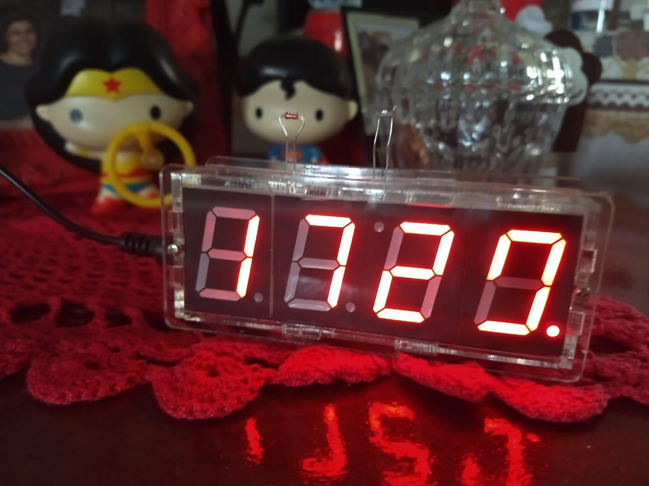relogio digital termometro diy 5