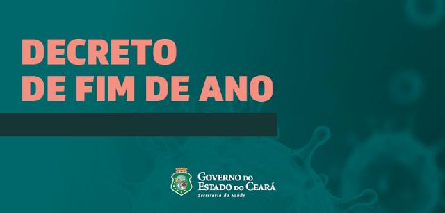 Decreto de isolamento social no Ceará é renovado sem alterações até o dia 3 de janeiro