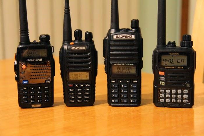 BAOFENG UV-B6 Handheld: BaoFeng Comparison UV-5RA, UV-B5, UV-82, and