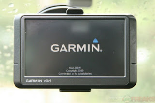 Garmin GPS device