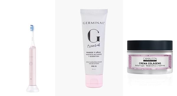 Roaman T3 pink-Crema de manos Germinal Essential-Crema facial colageno Camaleon
