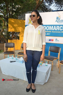 Actress Rakul Preet Singh at Endometriosis Awareness Walk at Apollo Cradle  0116.jpg
