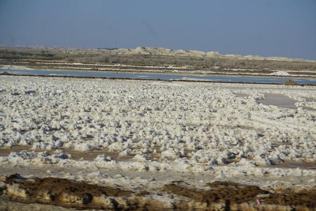 בריכות המלח -בצפון ים המלח