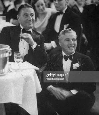 Чарли Чаплин и его брат Сидней Чаплин