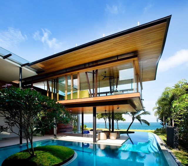Implementing Green Concept, Fish House in Singapore