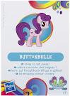 MLP Wave 11 Buttonbelle Blind Bag Card