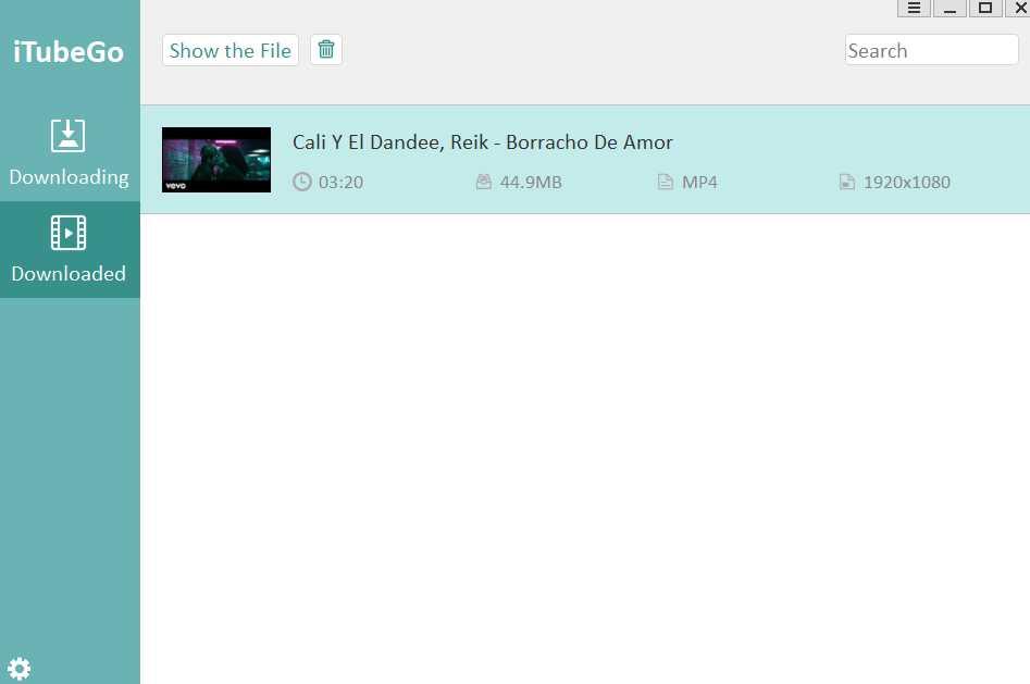 iTubeGo YouTube Downloader 1.1.1 poster box cover