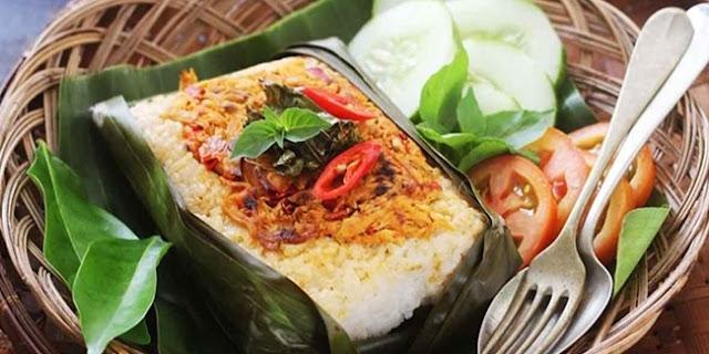 Resep Nasi Bakar Ikan Teri Kemangi