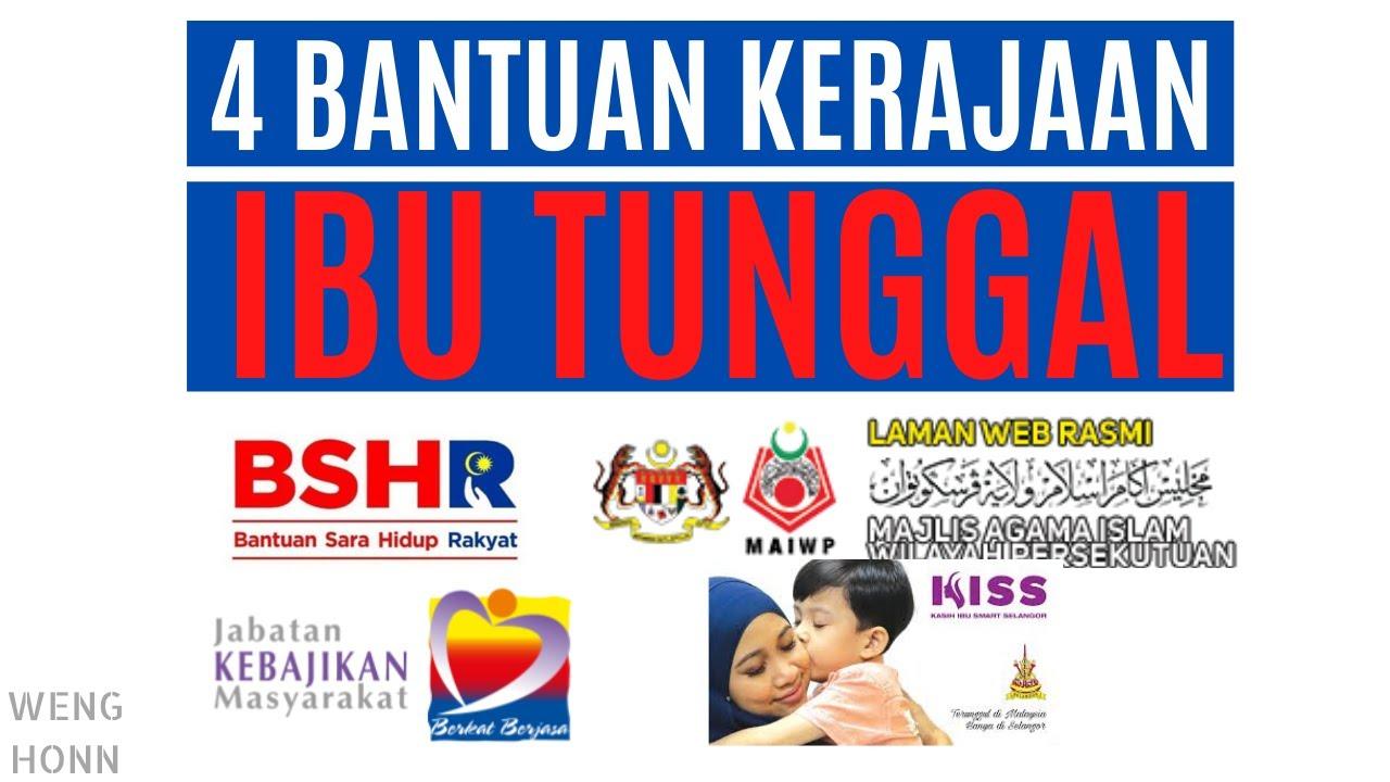 Permohonan Pendaftaran Bantuan Ibu Tunggal Jkm Rm300 2020