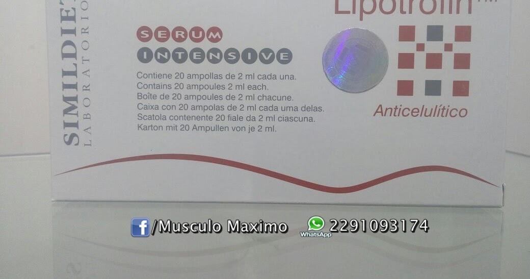 Lipotrofin 20 ampollas x 2 ml - precio ( $700 pesos