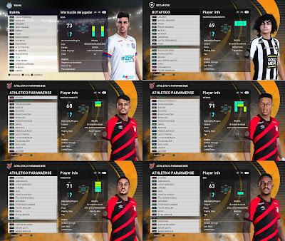 PES 2021 Facepack Serie A Brasileiro V4