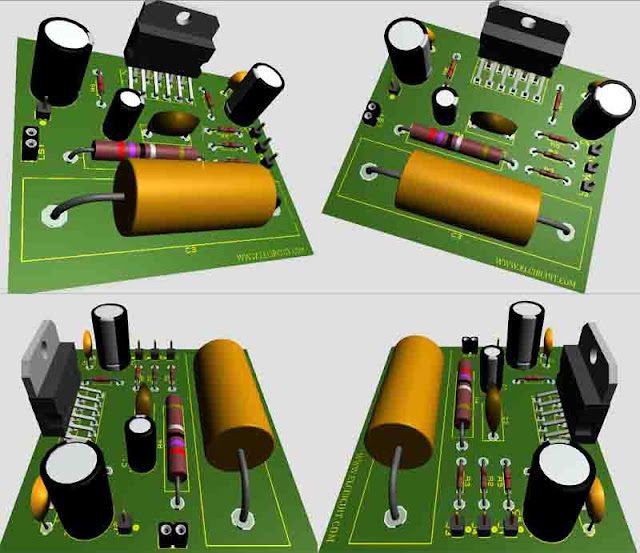 Audio Amplifier Circuit Is Small But Powerful Multi Purpose Amplifier