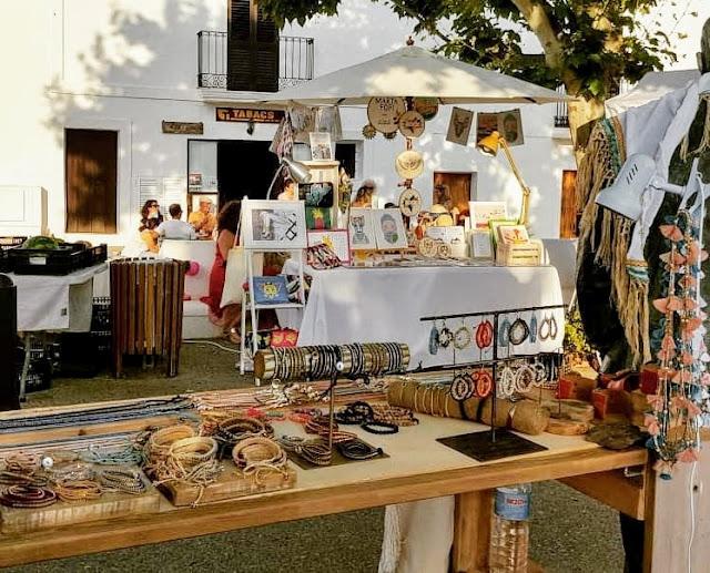 Mercado artesanal de San Miguel © Colla de Balansat