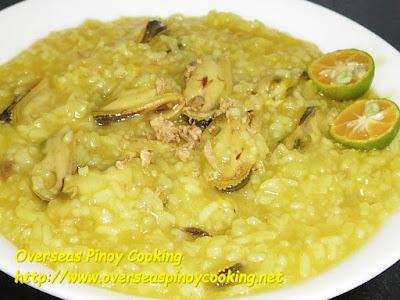 Tahong Lugaw Recipe