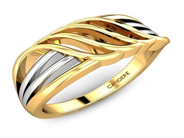 خواتم ذهب رقيقه جدا 10 | Simple gold rings 10