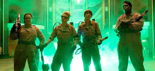 The New Ghost Busters Movie & My Thoughts On It ....